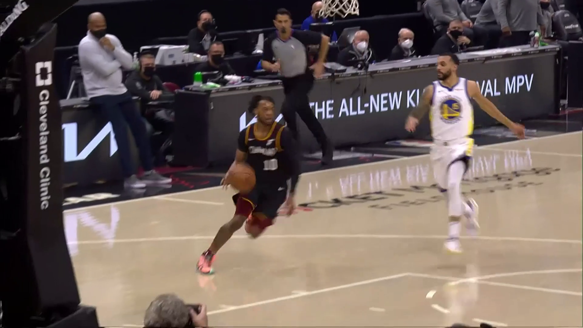 Garland with the Steal and Score