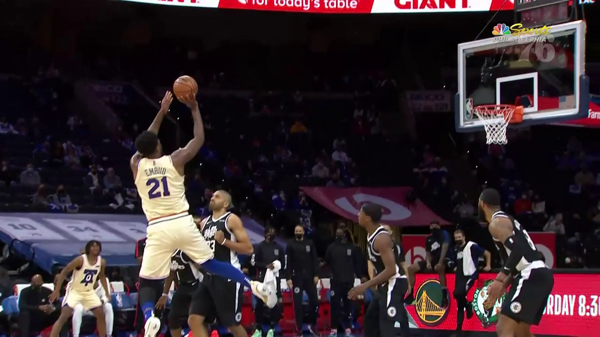 Joel Embiid | Highlights vs Los Angeles Clippers (04.16.21)