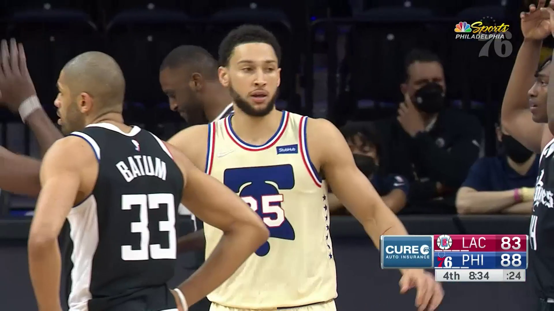 Ben Simmons | Highlights vs Los Angeles Clippers (04.16.21)