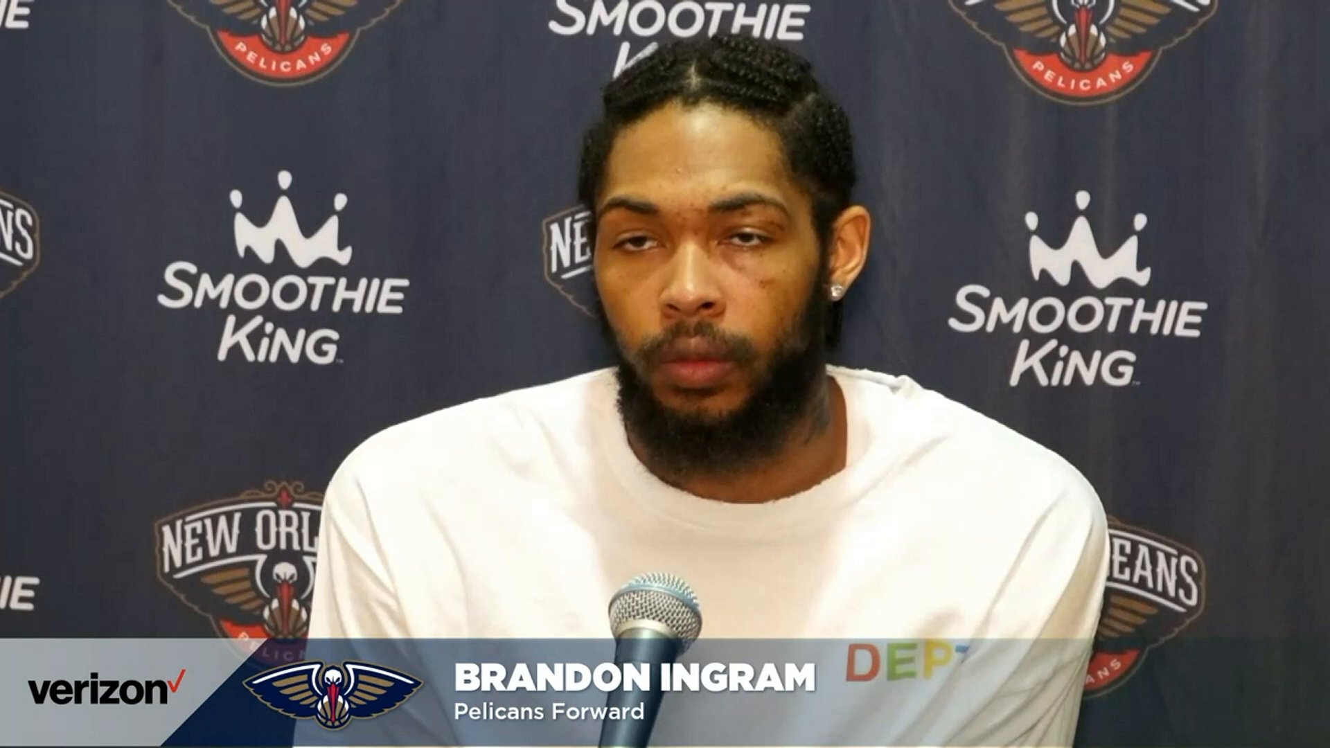 Pelicans-Wizards Postgame: Brandon Ingram 4-16-21