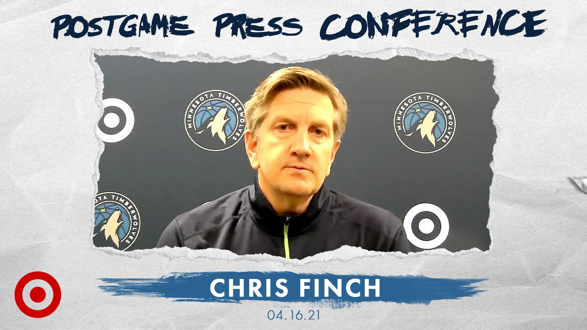 Chris Finch Postgame Press Conference - April 16, 2021
