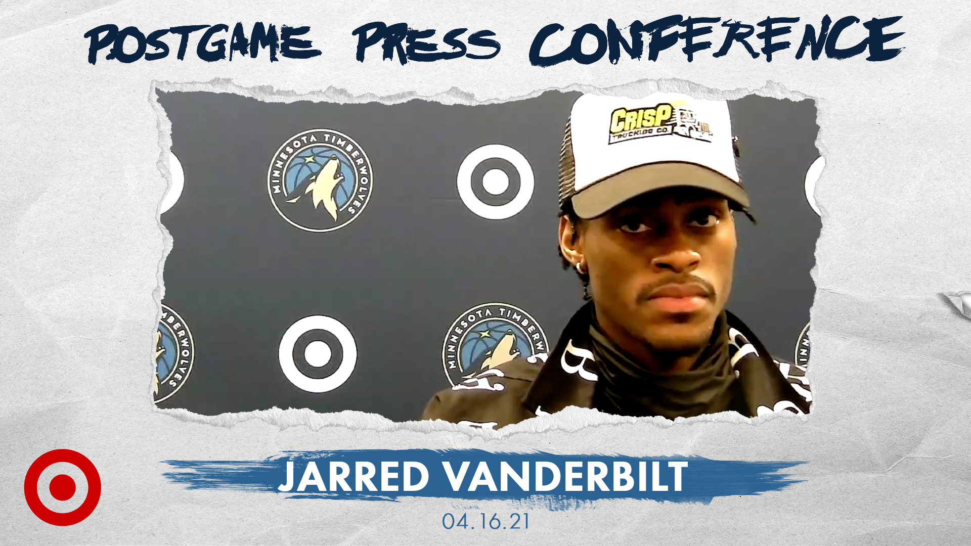 Jarred Vanderbilt Postgame Press Conference - April 16, 2021