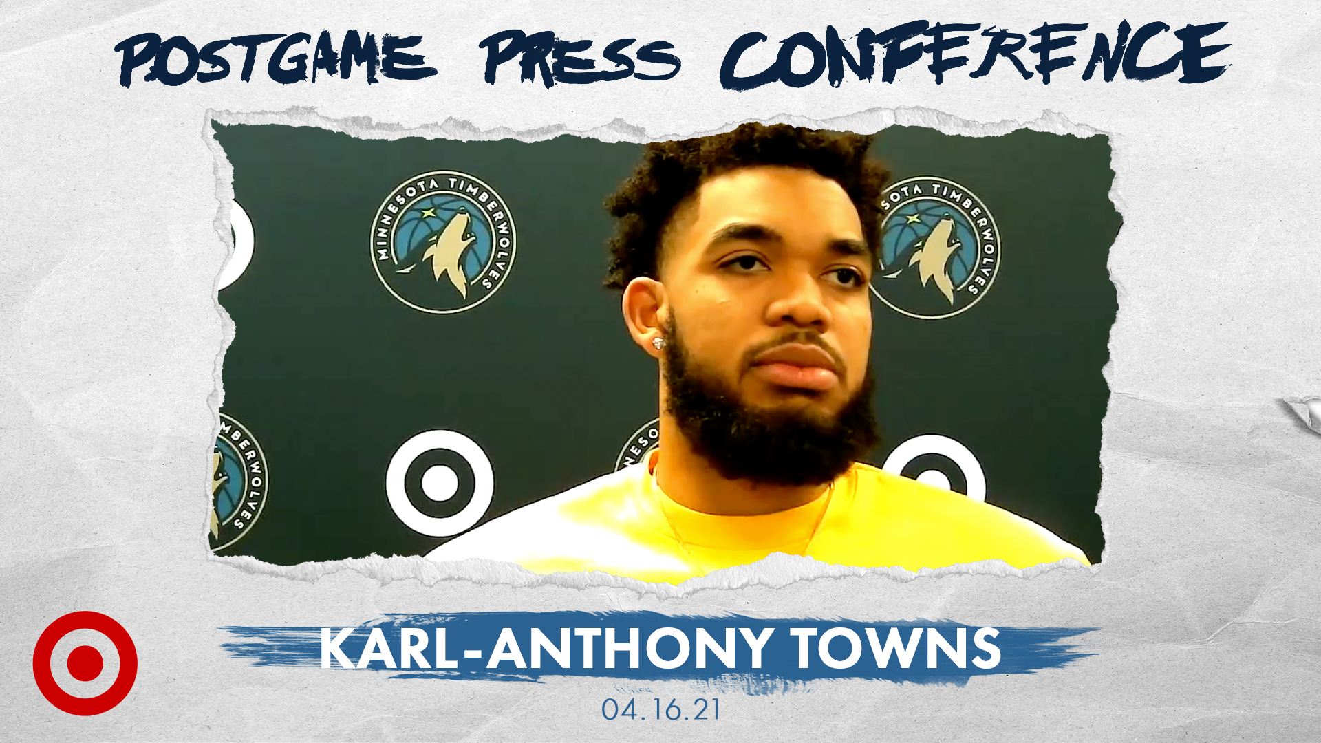 Karl-Anthony Towns Postgame Press Conference - April 16, 2021