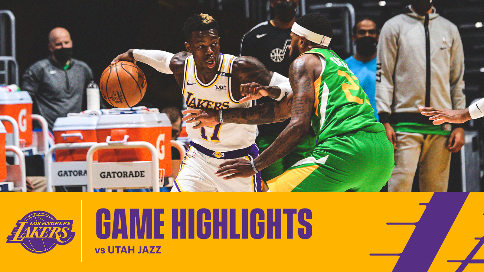 HIGHLIGHTS | Dennis Schröder (25 pts, 8 asts, 6 rebs) vs Utah Jazz