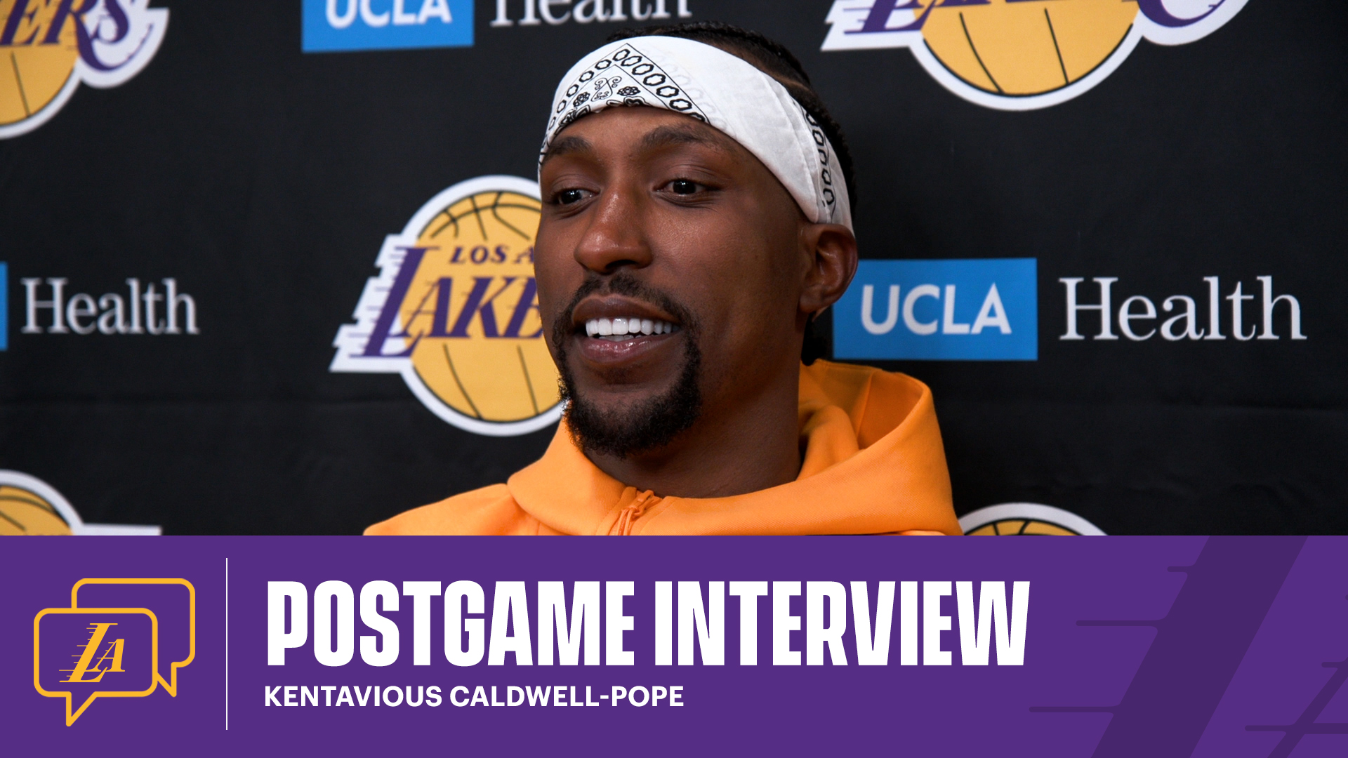 Lakers Postgame: Kentavious Caldwell-Pope (4/17/21)