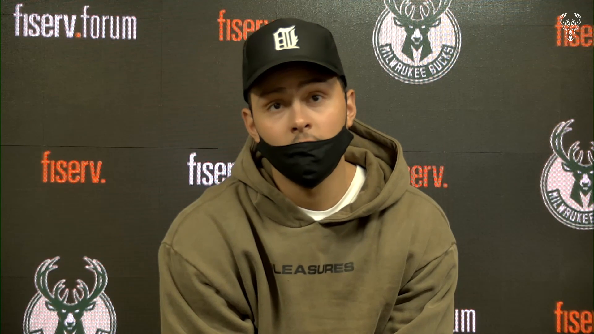 Bryn Forbes Press Conference | 4.17.21