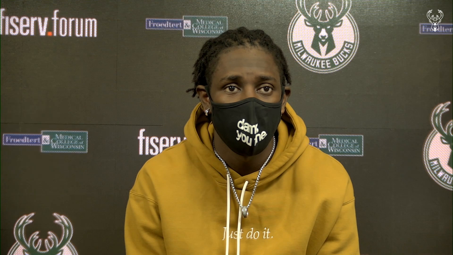 Jrue Holiday Press Conference | 4.17.21