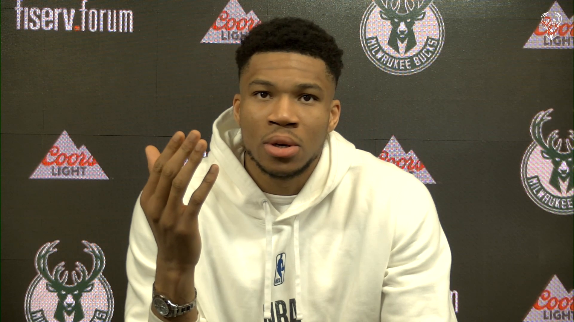 Giannis Antetokounmpo Press Conference | 4.17.21
