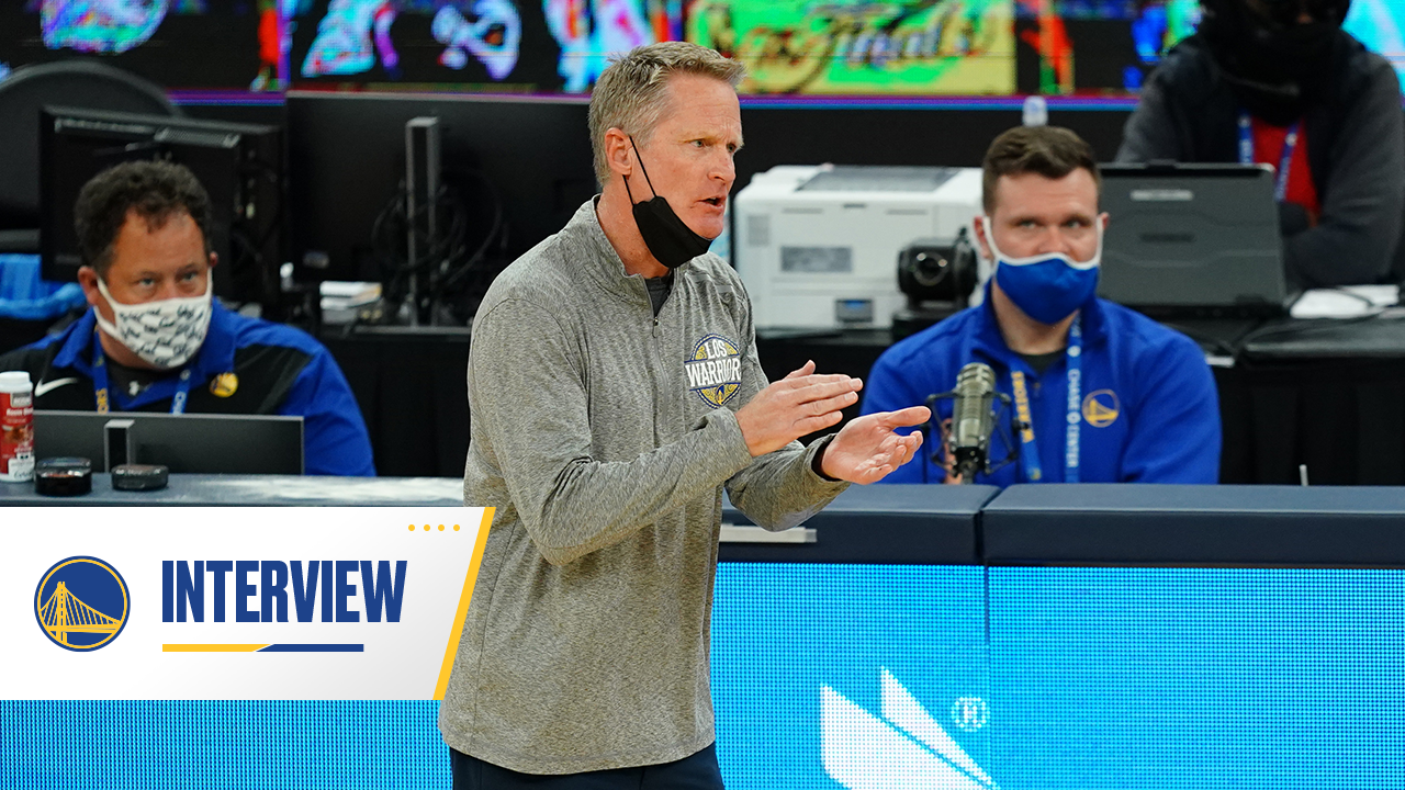 Postgame Warriors Talk: Steve Kerr - 4/17/21