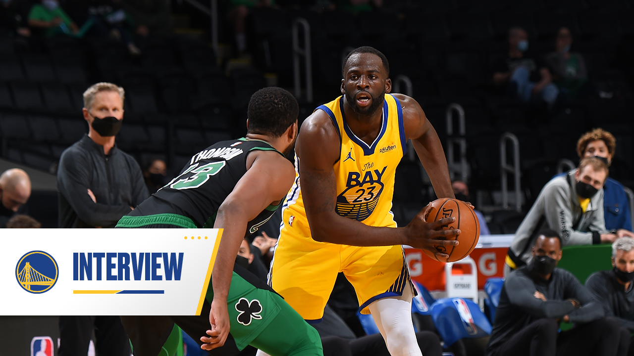 Postgame Warriors Talk: Draymond Green - 4/17/21