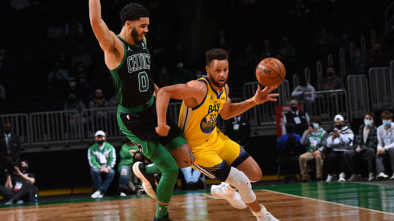 Verizon Game Rewind: Stephen Curry Drops 47 Points, Dubs Fall in Down-to-the-Wire Contest in Boston
