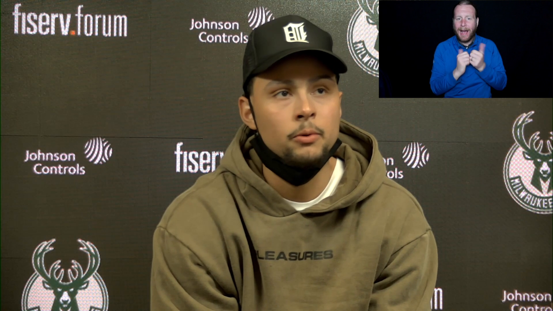 Bryn Forbes ASL Press Conference | 4.17.21