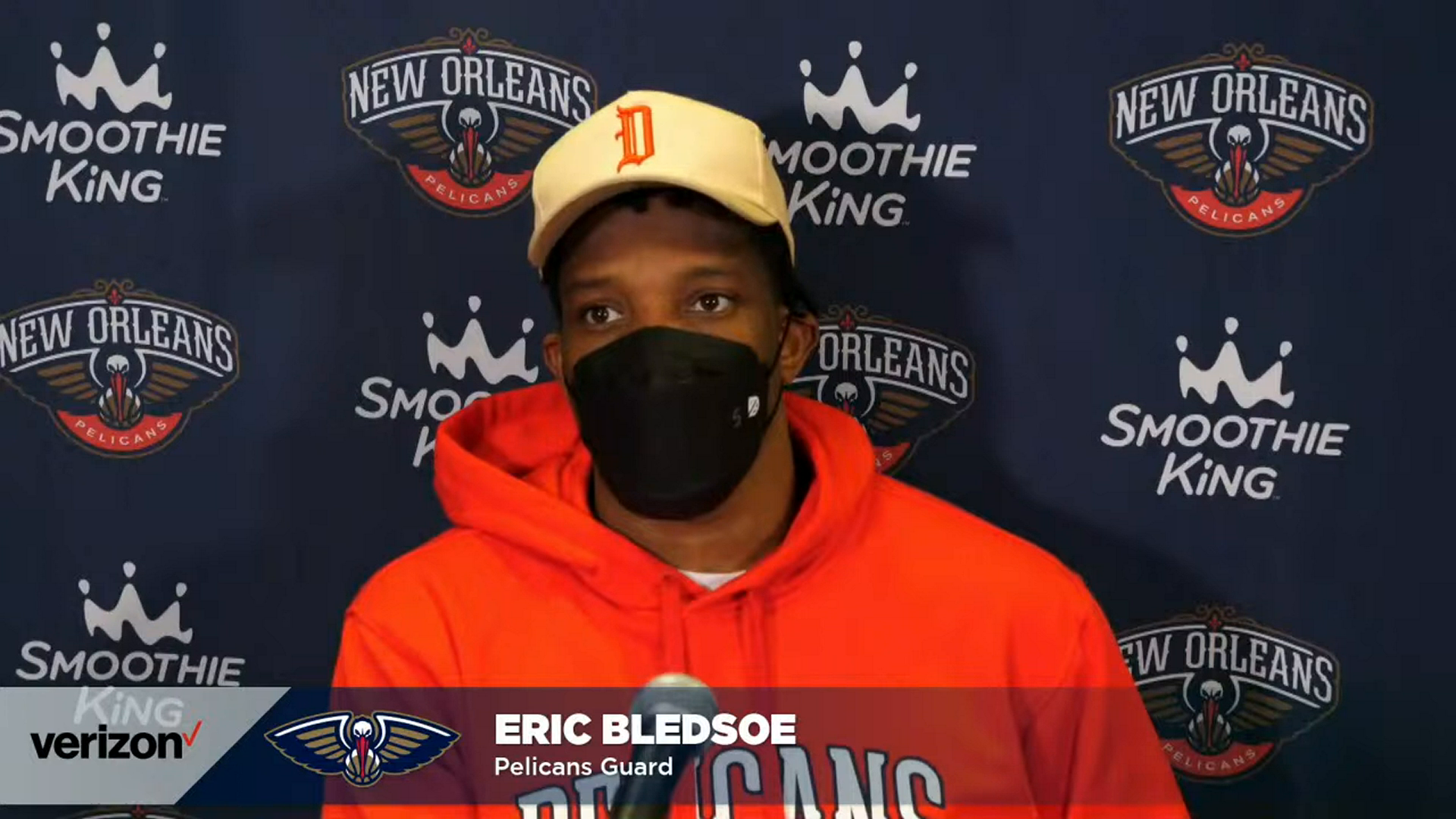 Pelicans-Knicks Postgame Interview: Eric Bledsoe 4-18-21
