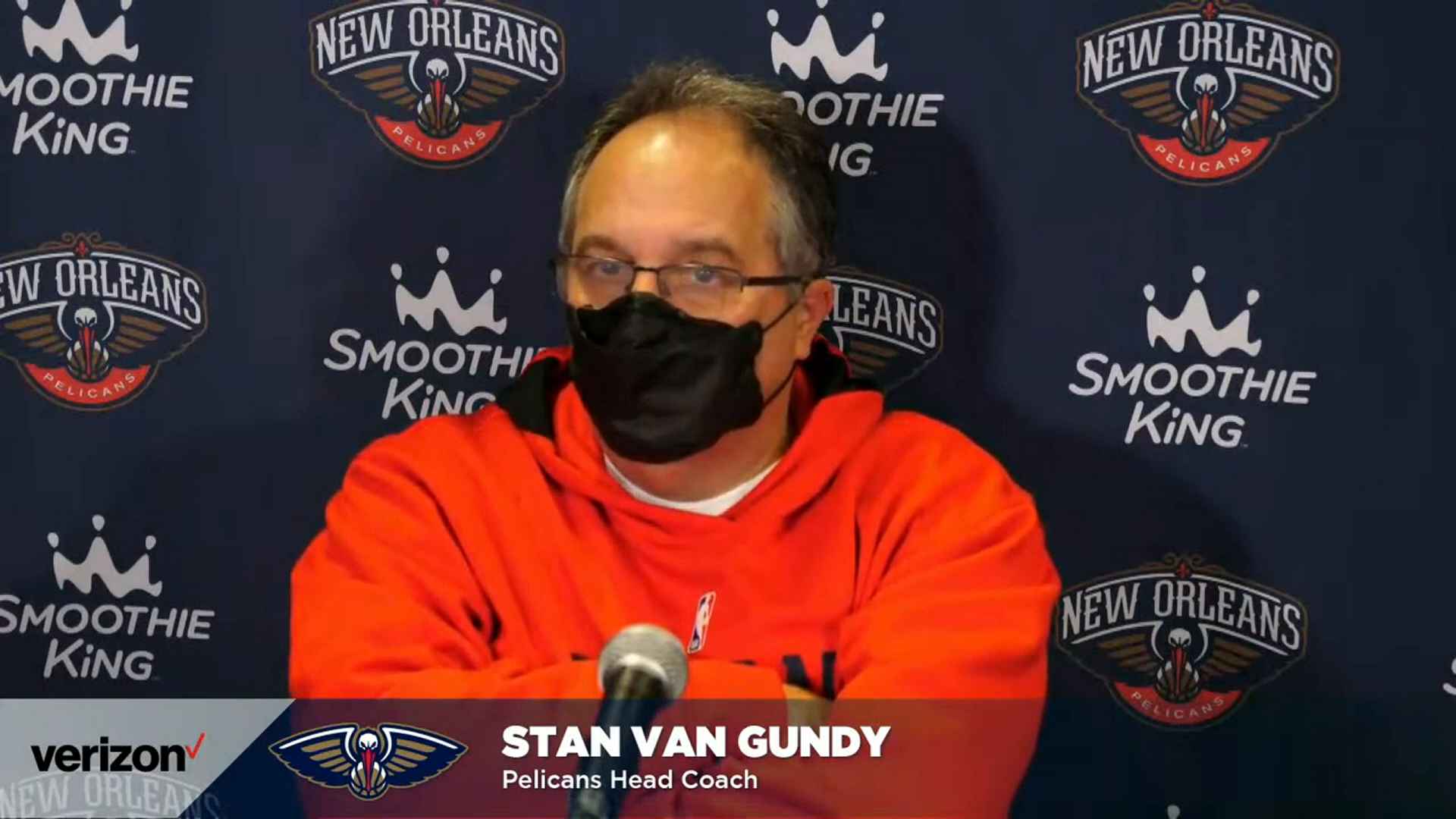 Pelicans-Knicks Postgame Interview: Stan Van Gundy 4-18-21