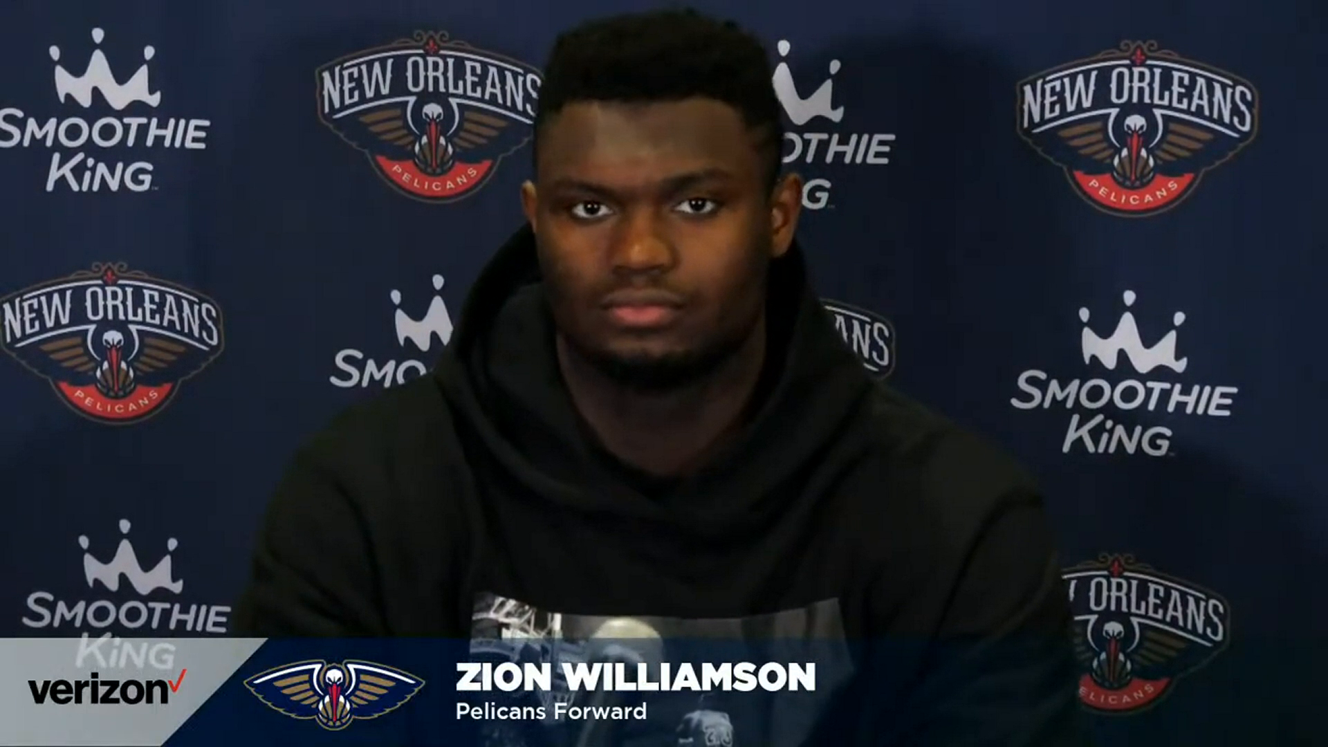 Pelicans-Knicks Postgame Interview: Zion Williamson 4-18-21