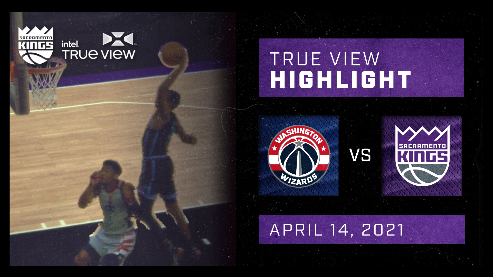 Intel True View Highlight - Fox Steal and Dunk vs Wizards 4.14.21