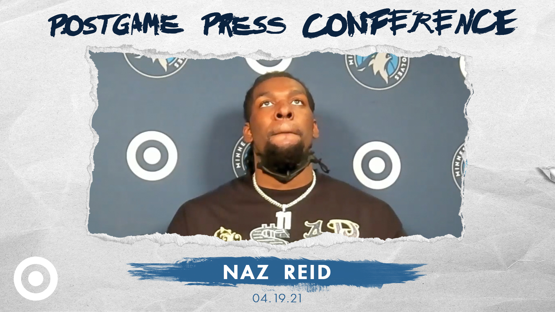 Naz Reid Postgame Press Conference - April 18, 2021