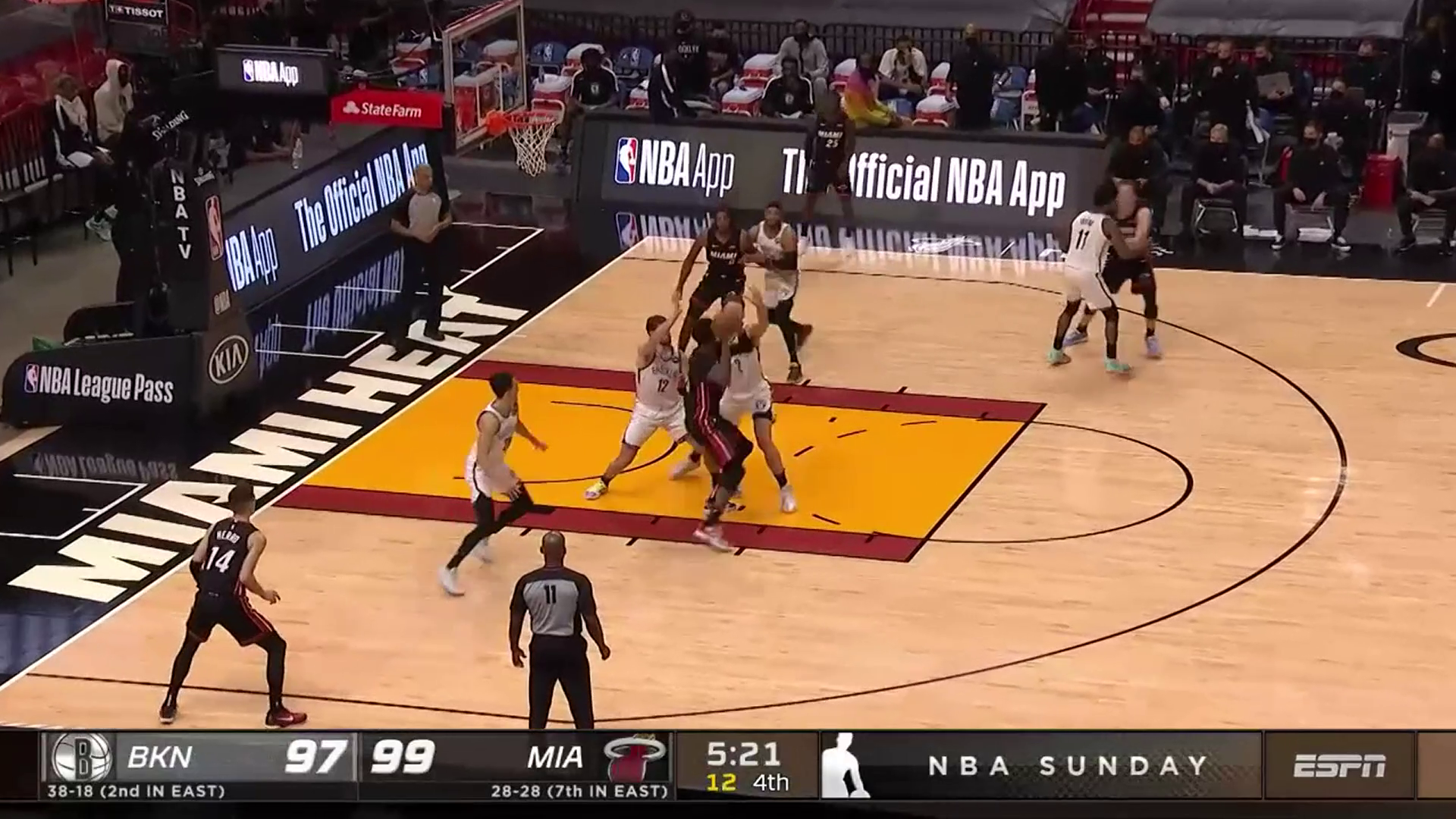 Bam's Nets Turnovers