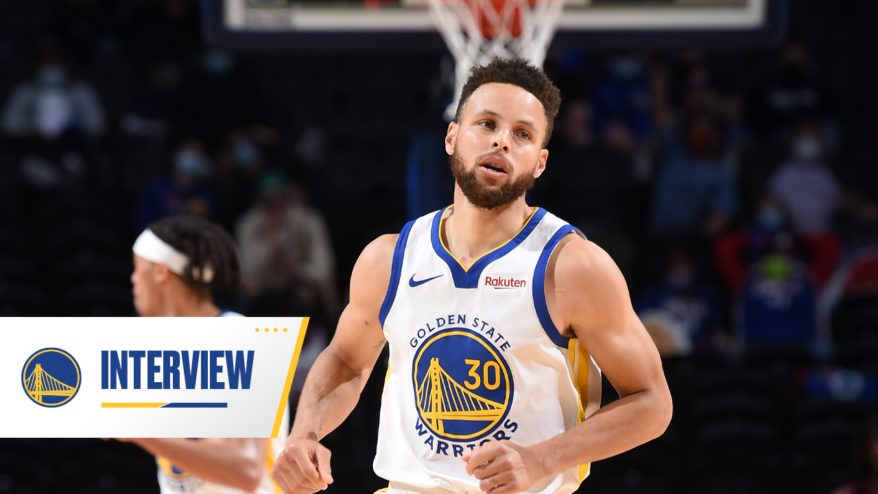 Postgame Warriors Talk: Stephen Curry - 4/19/21