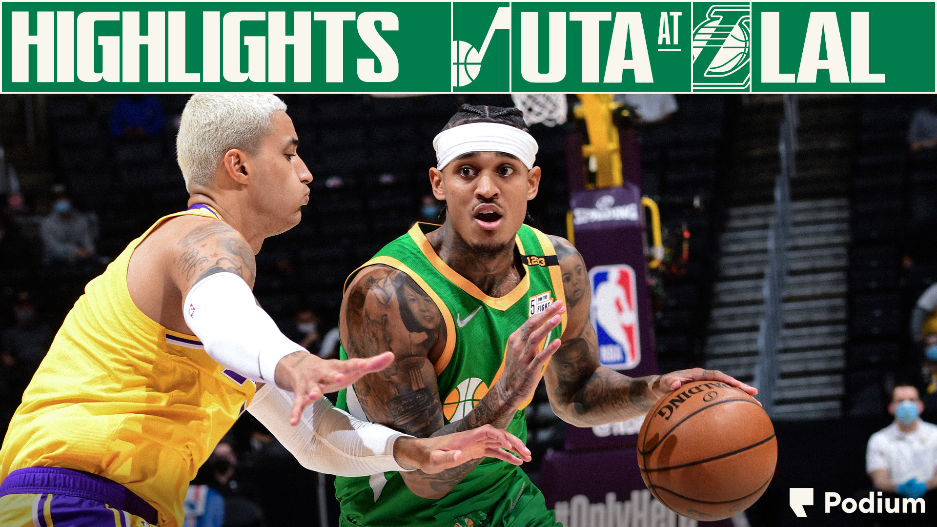Highlights: Jazz 111 | Lakers 97