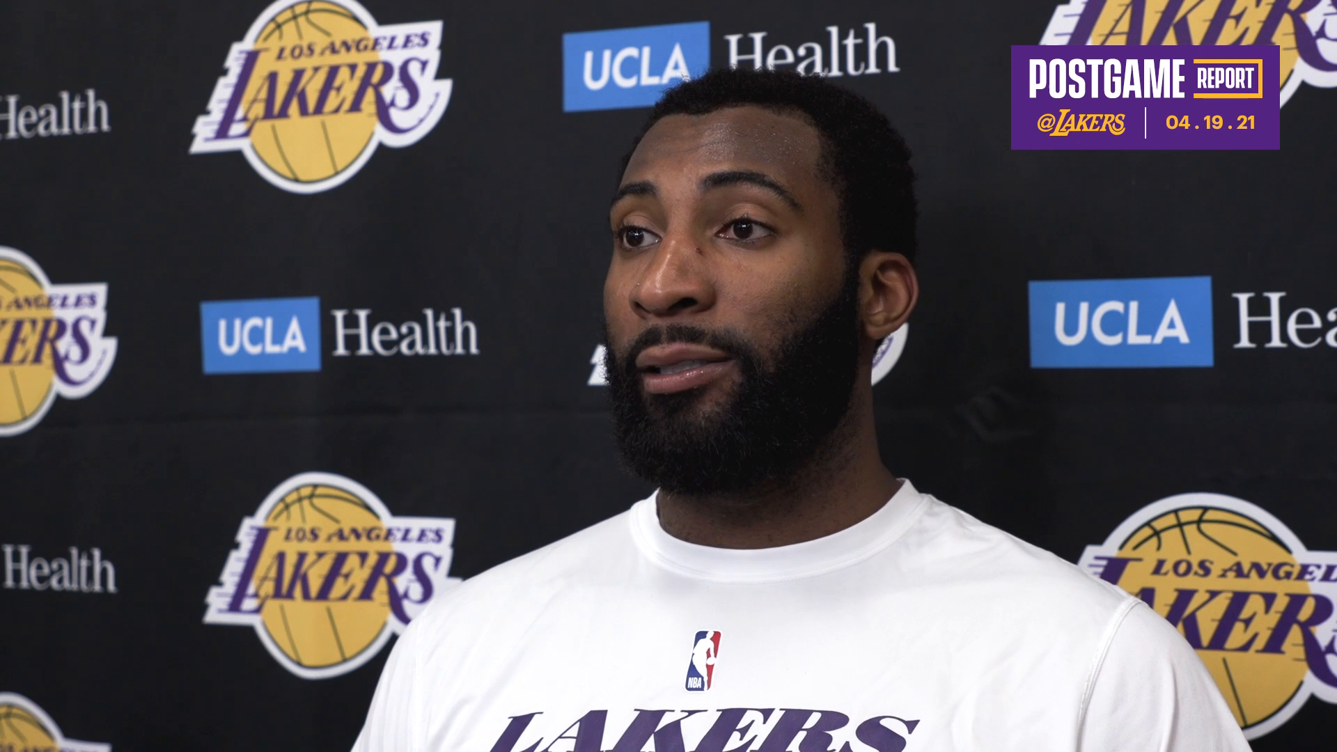 Lakers Postgame: Andre Drummond (4/19/21)