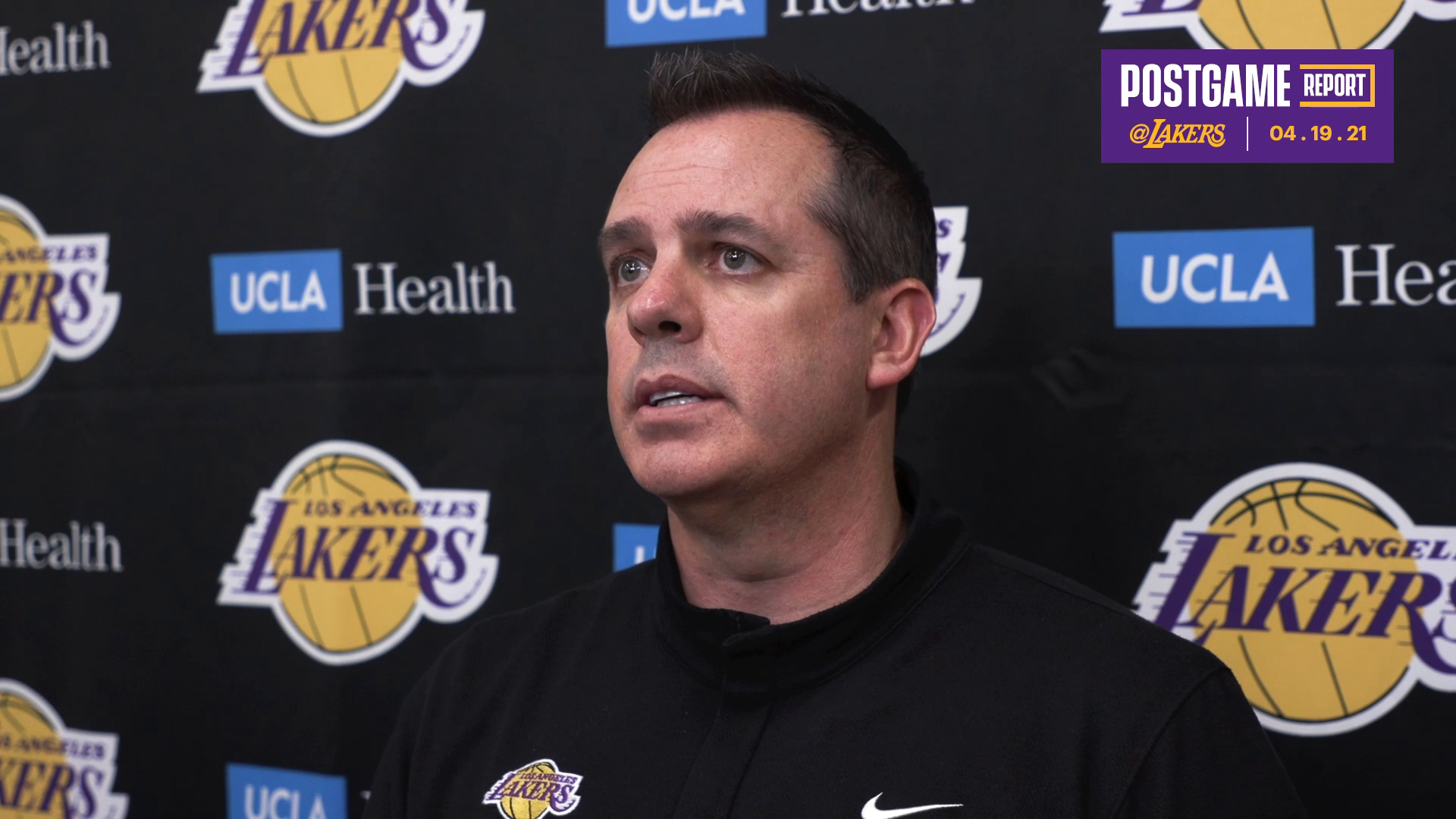 Lakers Postgame: Frank Vogel (4/19/21)