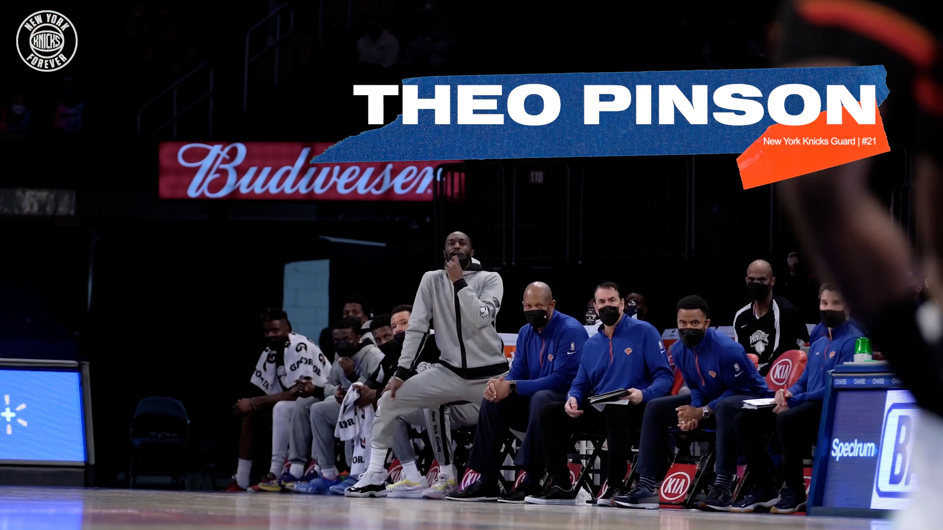Knicks All-Access: Theo Pinson