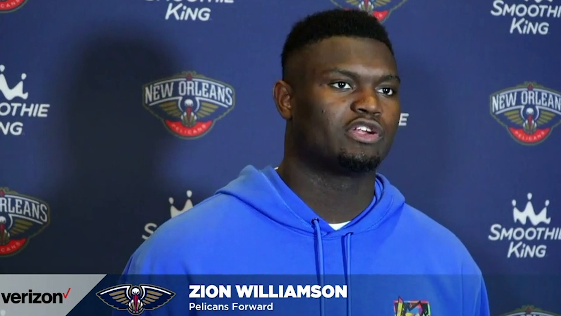 Pelicans-Nets Postgame Interview: Zion Williamson 4-20-21