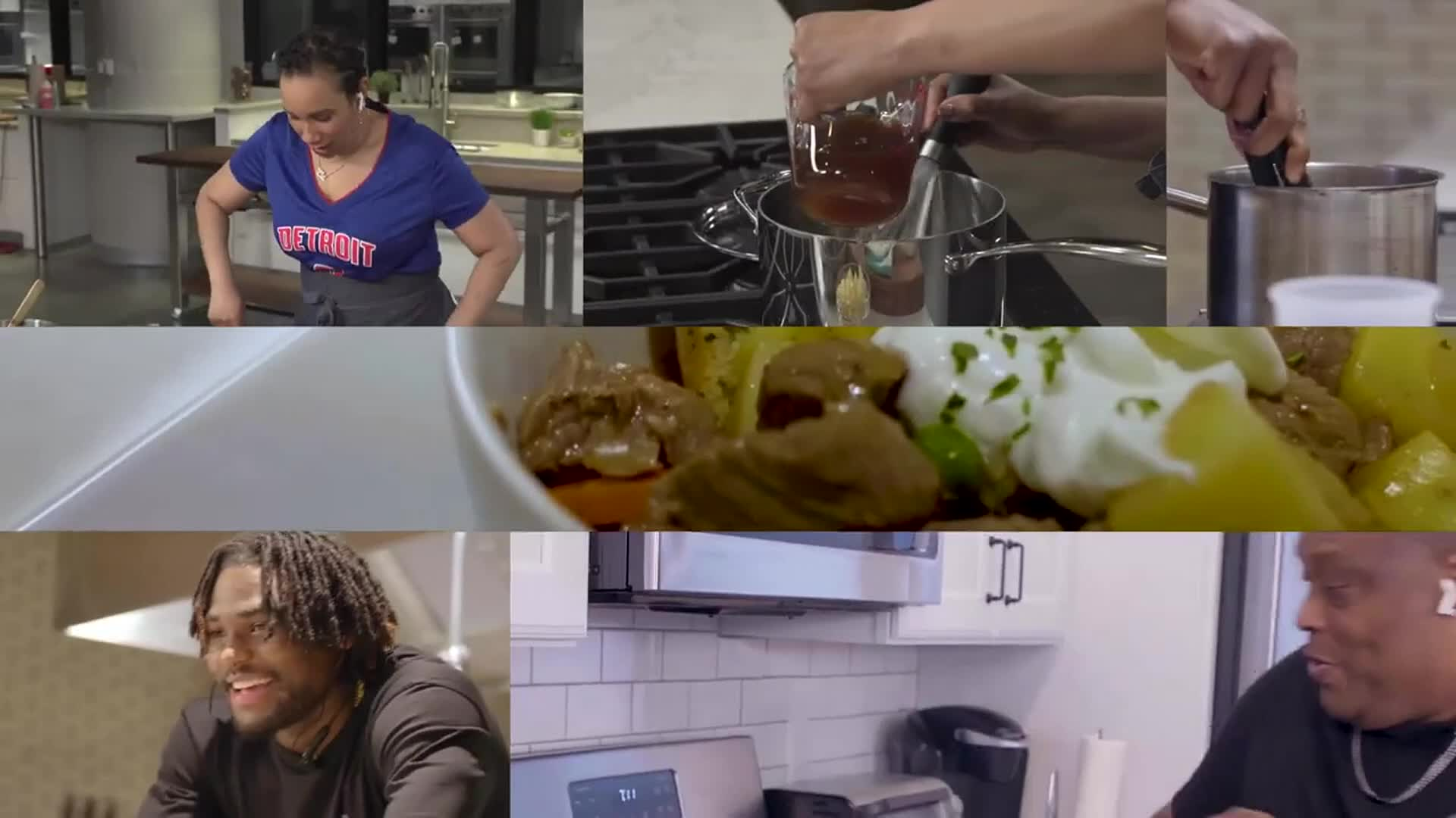 Cookin' Beef Stew with Isaiah Stewart, Rick Mahorn, and Elle Simone Scott | America's Test Kitchen