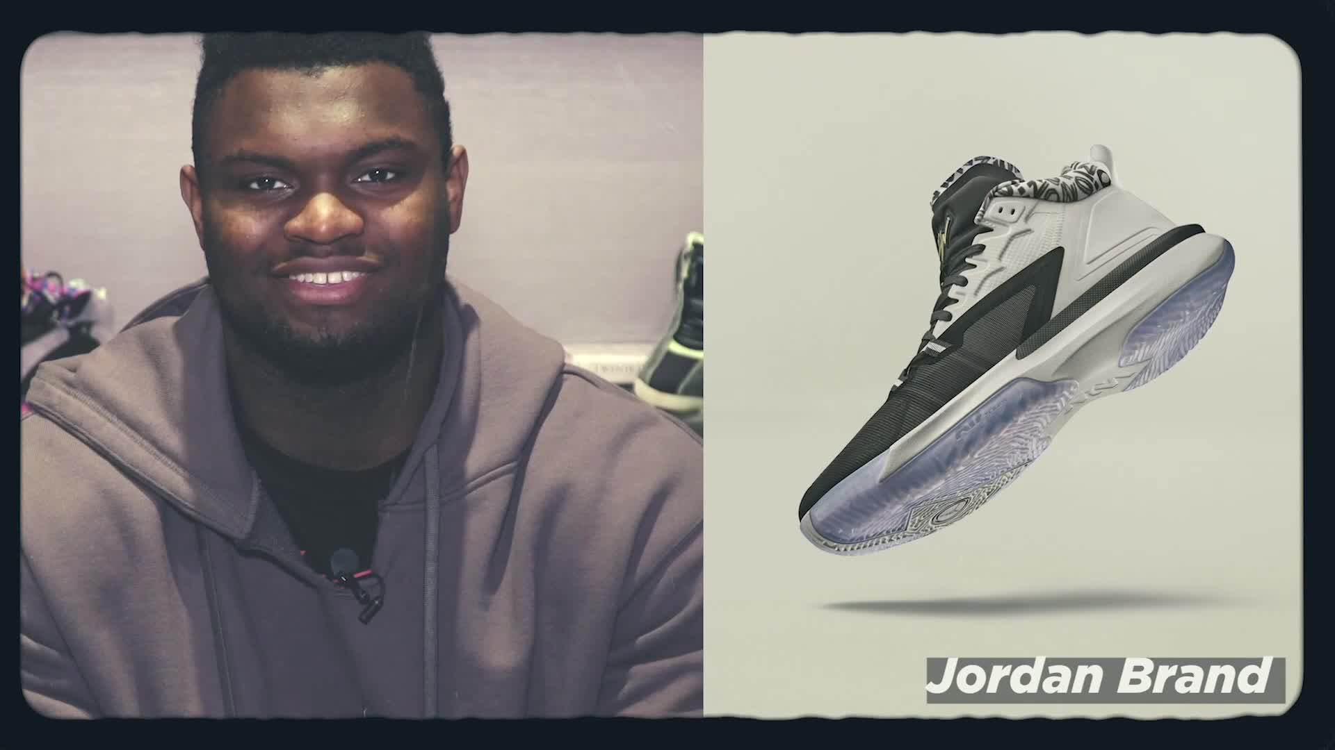 Zion Williamson on what he loves about his new Zion 1 shoes