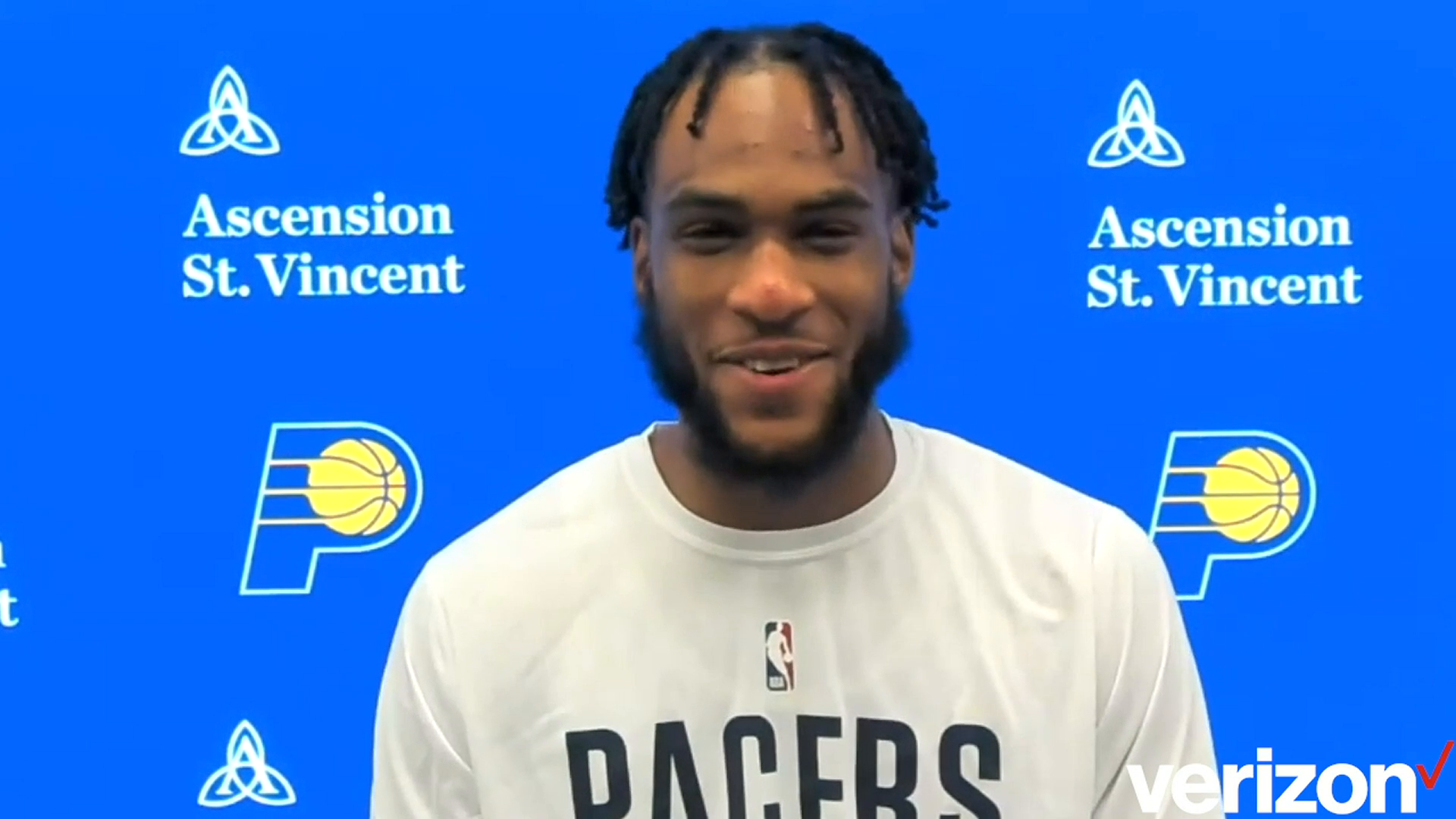 Postgame: Pacers Locker Room - Apr. 21, 2021