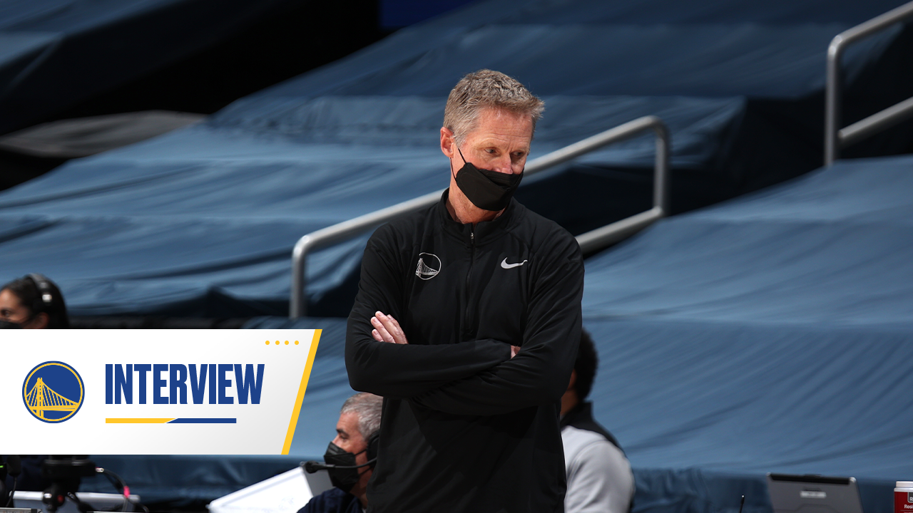 Postgame Warriors Talk: Steve Kerr - 4/21/21
