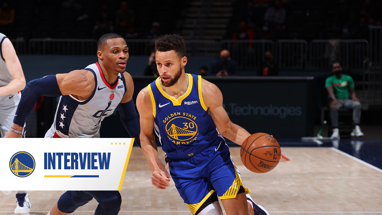 Postgame Warriors Talk: Stephen Curry - 4/21/21