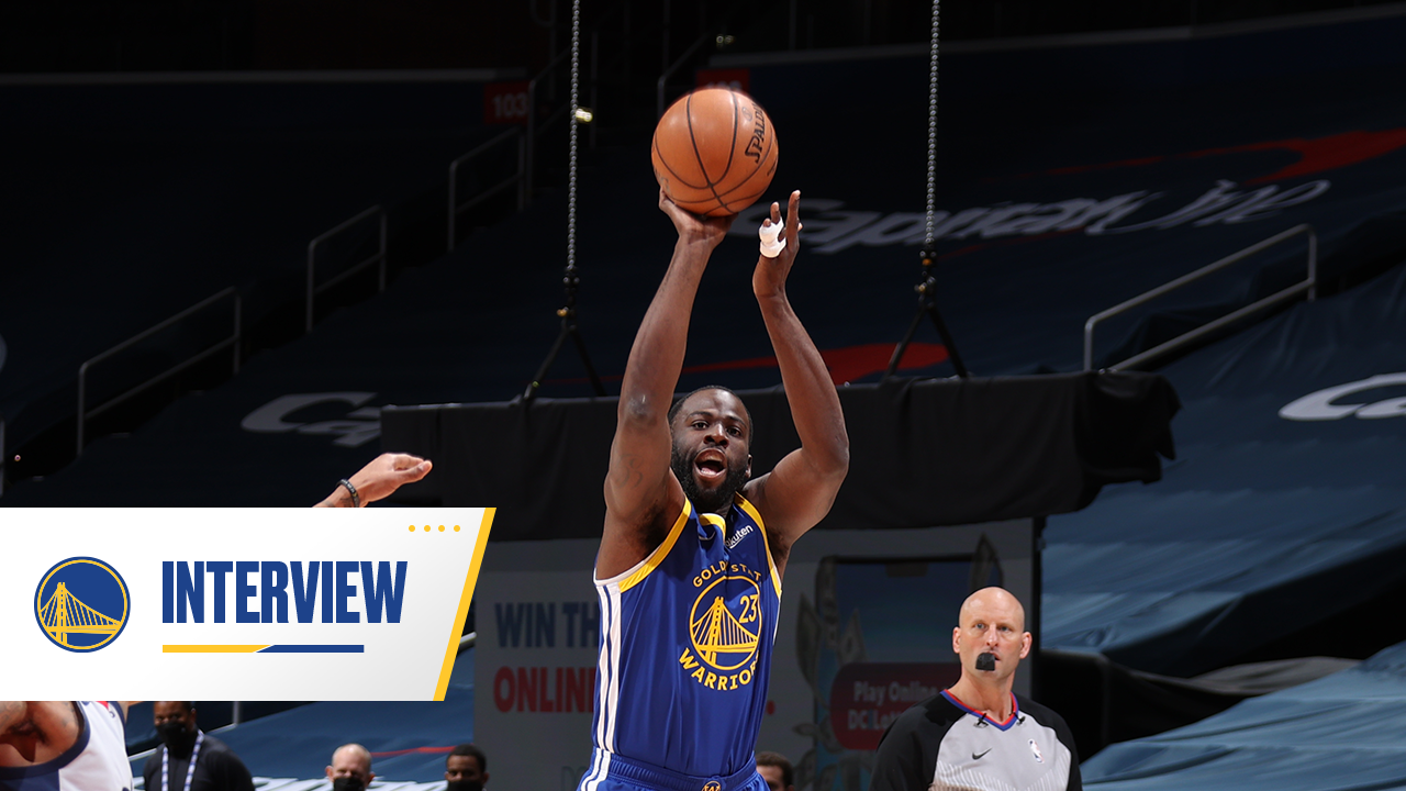Postgame Warriors Talk: Draymond Green - 4/21/21