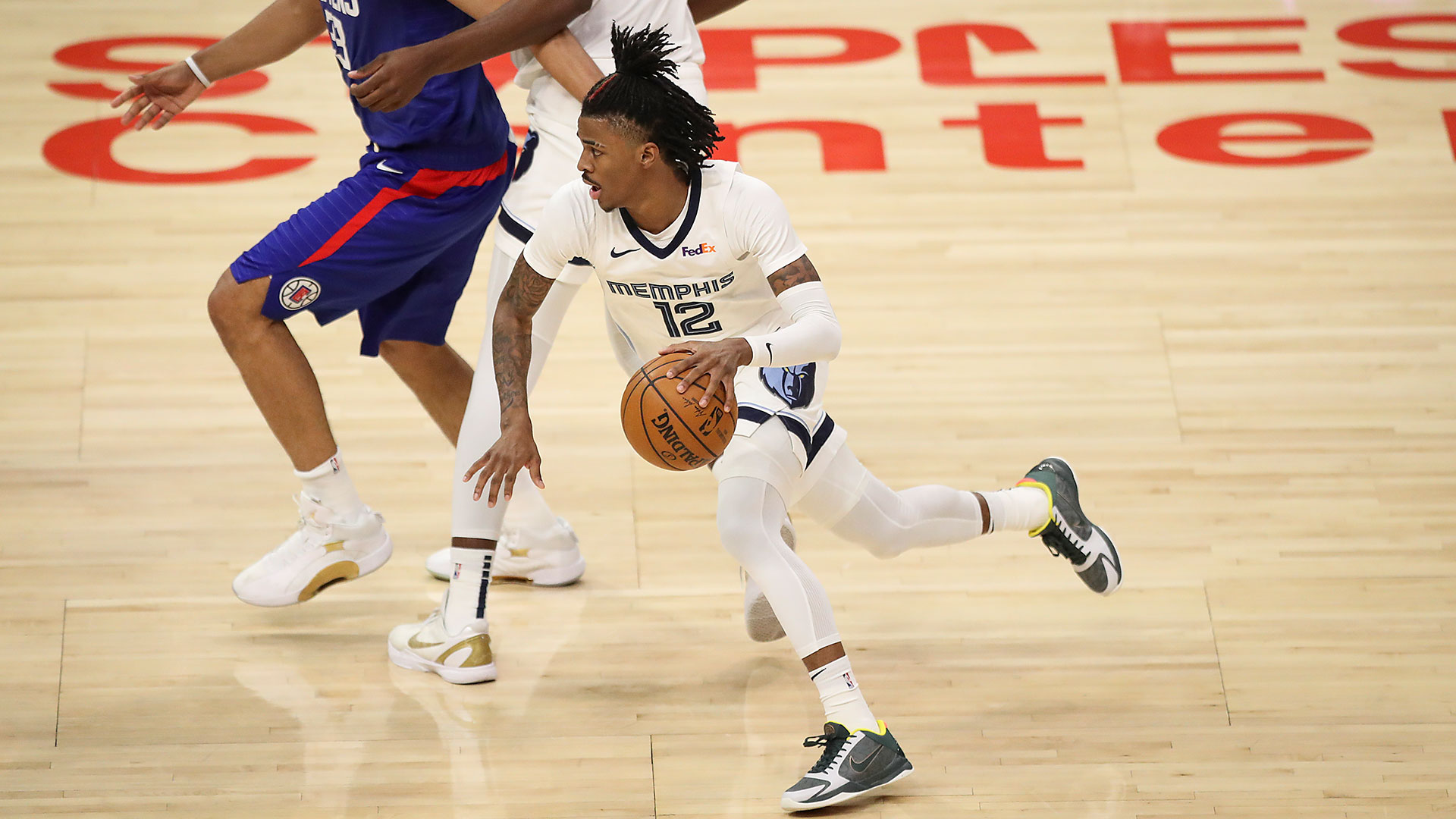 Ja Morant 22 points @ Clippers 4.21.21