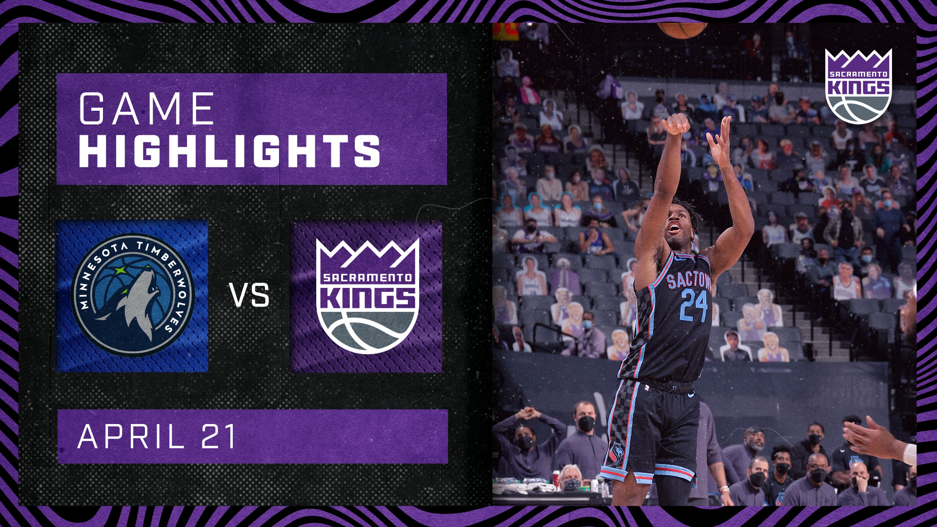 Buddy Buckets Wins It! | Kings vs Wolves 4.21.21