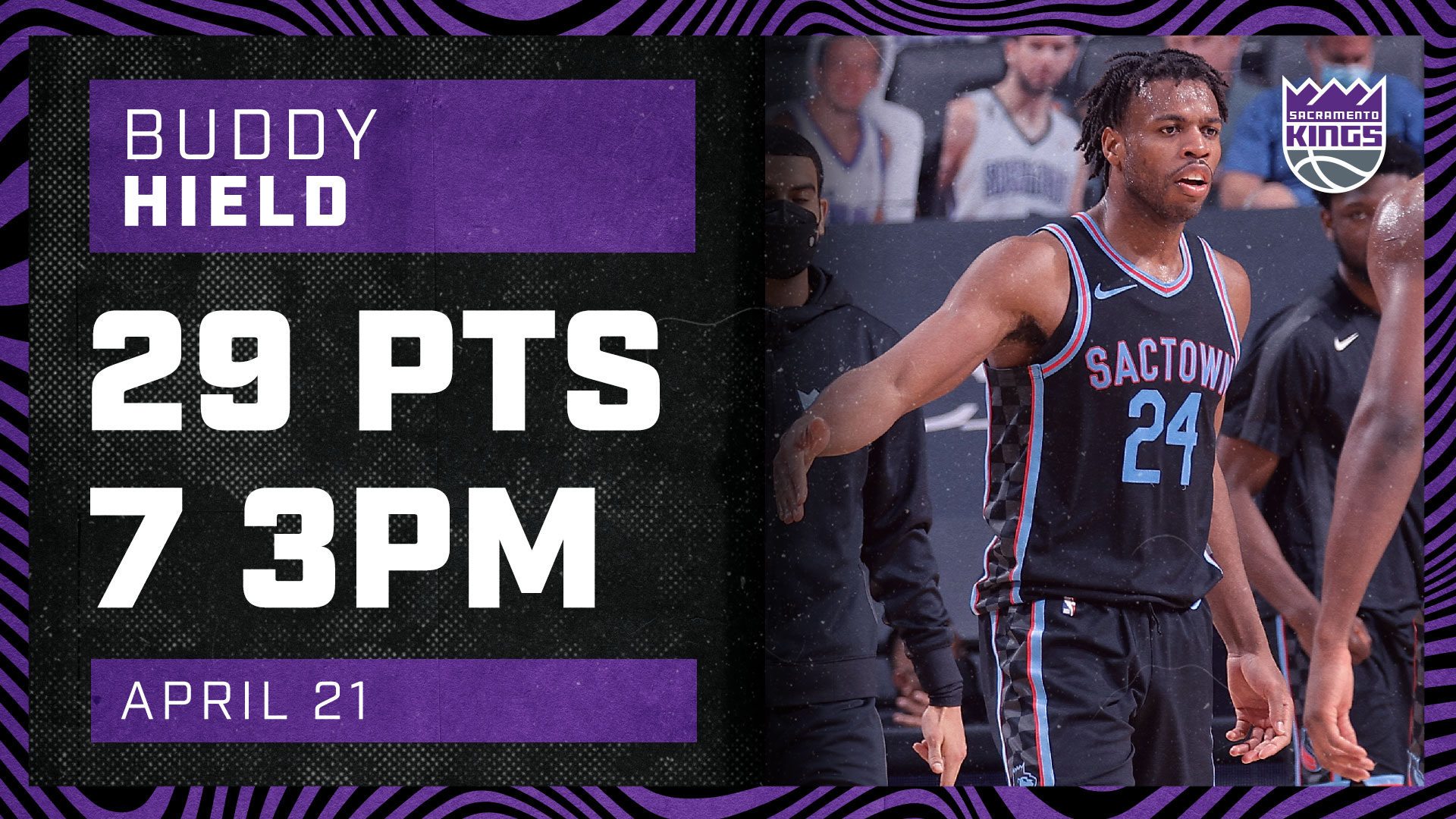 Buddy Hield Drops 29 PTS with 7 Threes! | Kings vs Wolves 4.21.21