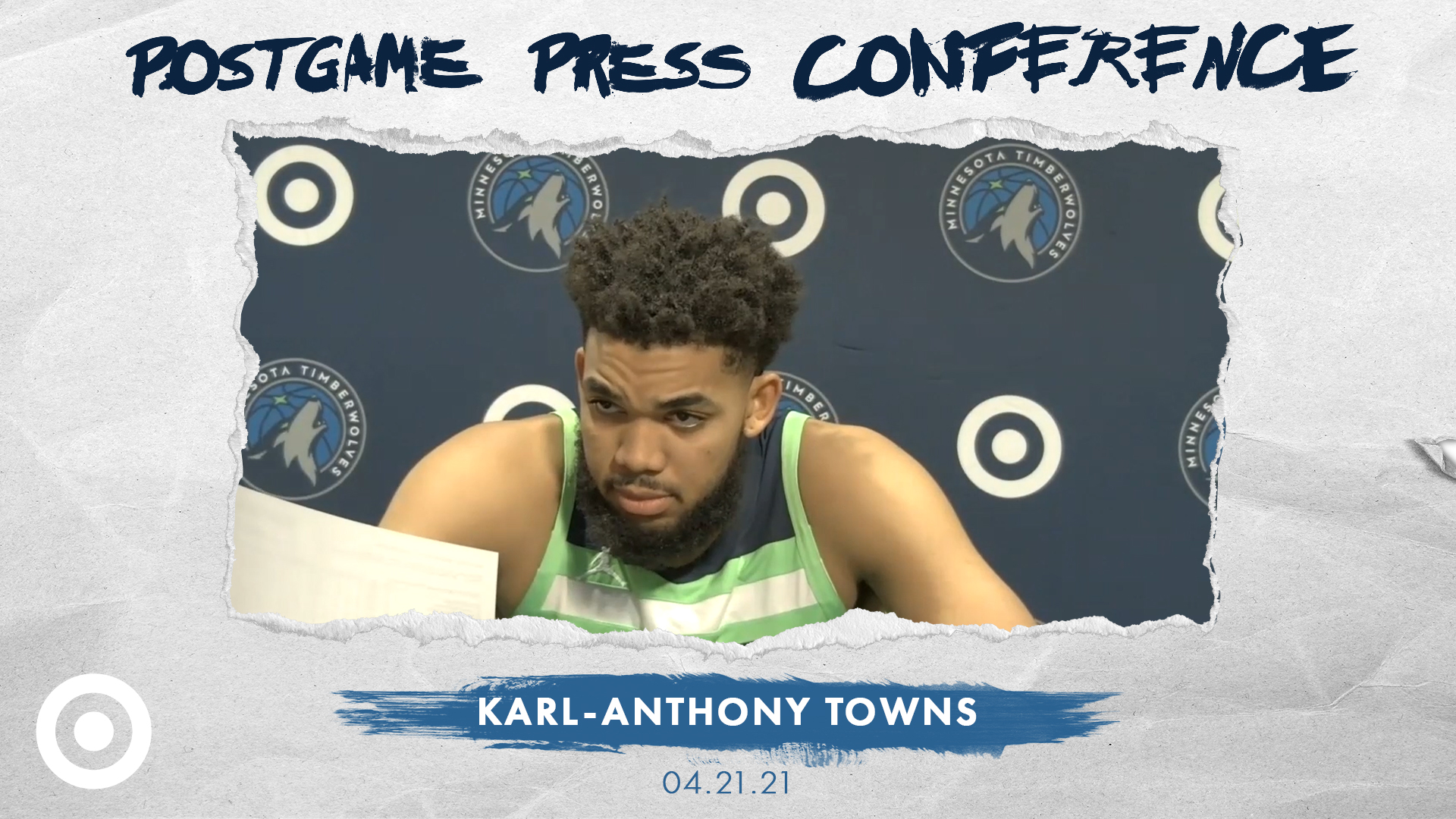 Karl-Anthony Towns Postgame Press Conference - April 21, 2021