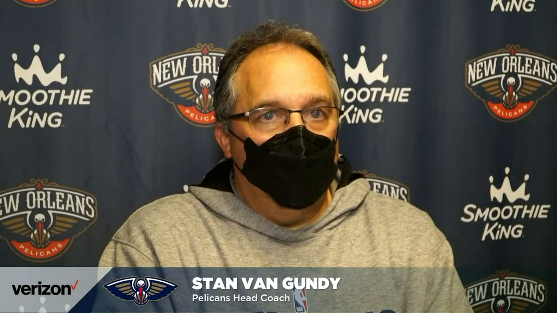 Pelicans-Magic Postgame Interview: Stan Van Gundy 4-22-21