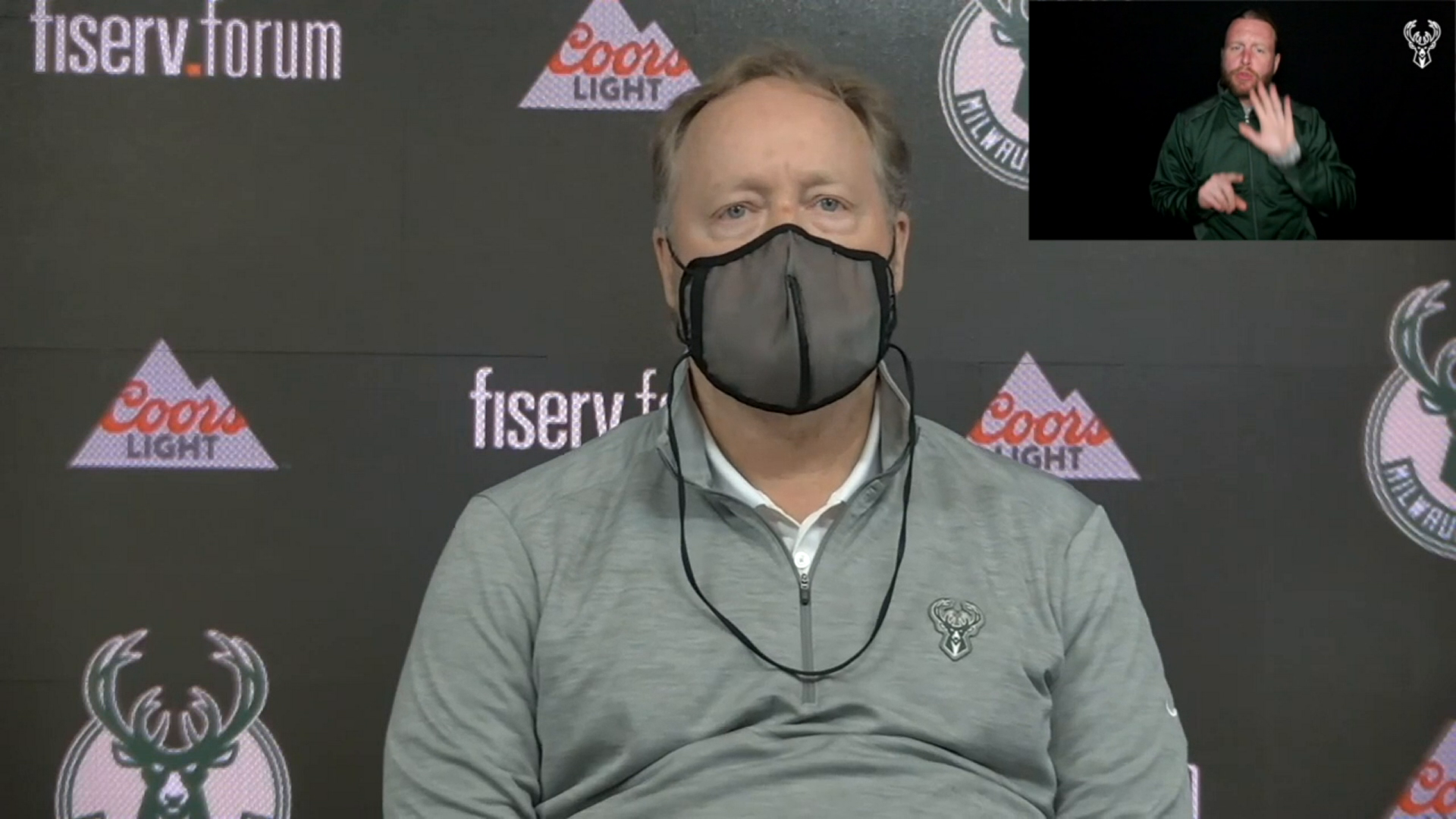 Coach Budenholzer ASL Press Conference | 4.22.21