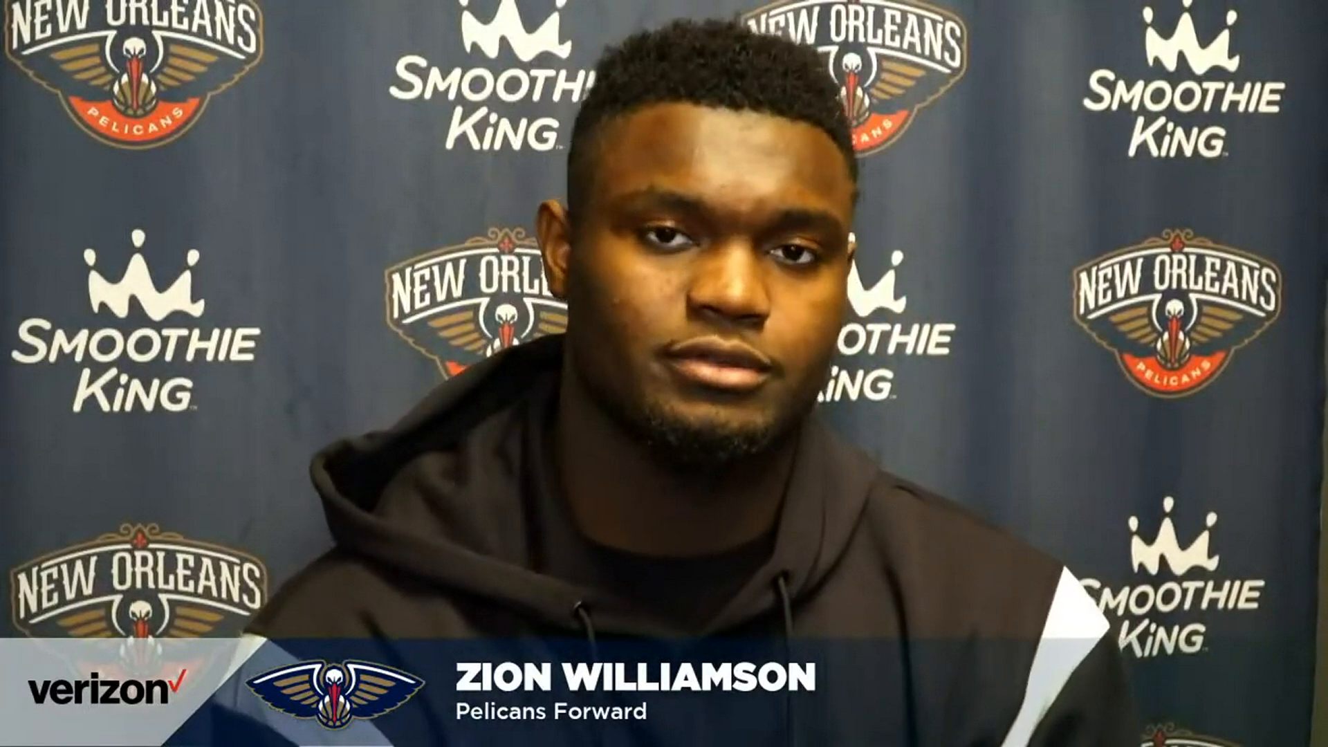 Pelicans-Magic Postgame Interview: Zion Williamson 4-22-21