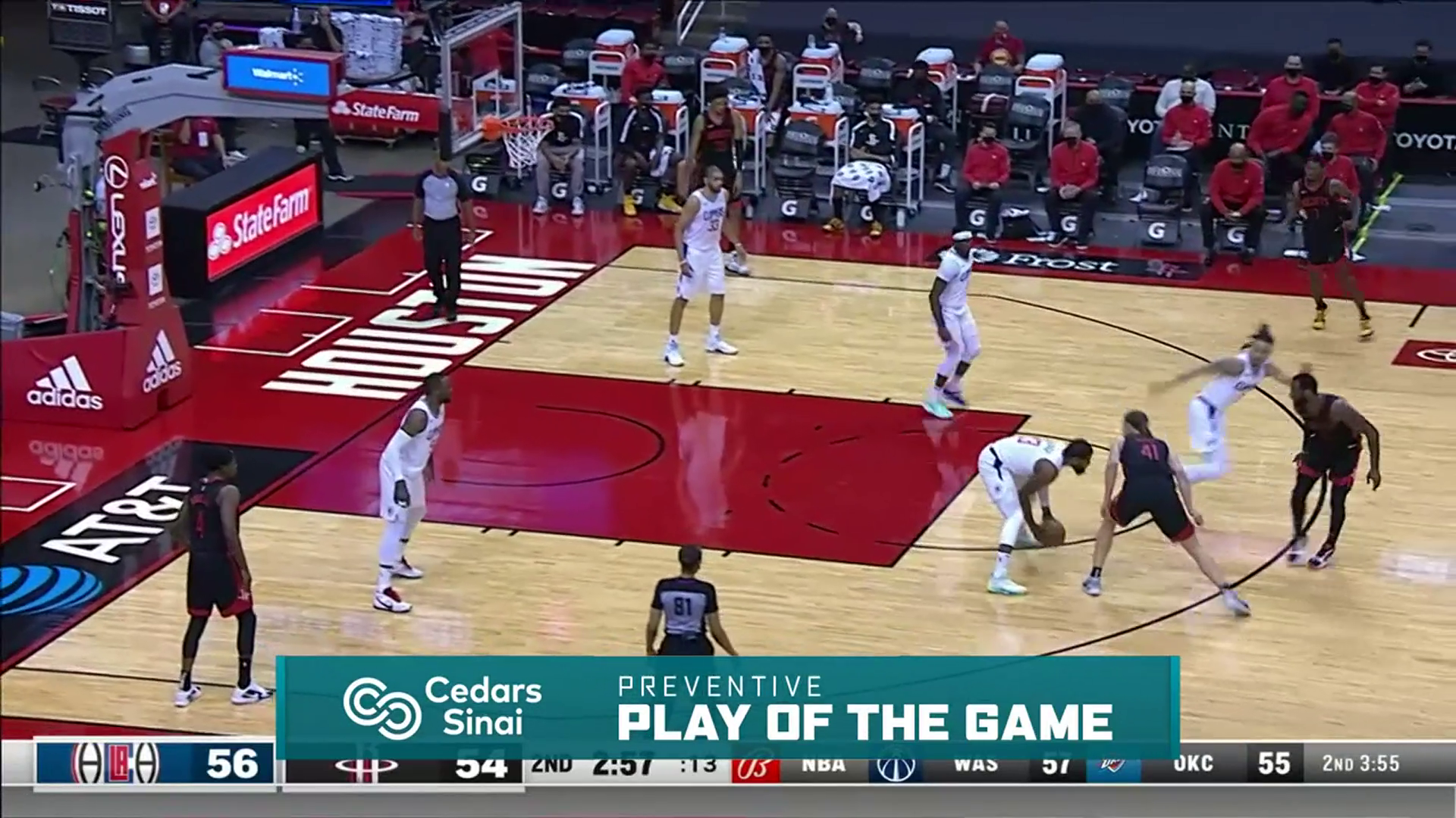 Cedars-Sinai Preventive Play of the Game | Clippers vs Rockets (4.23.21)