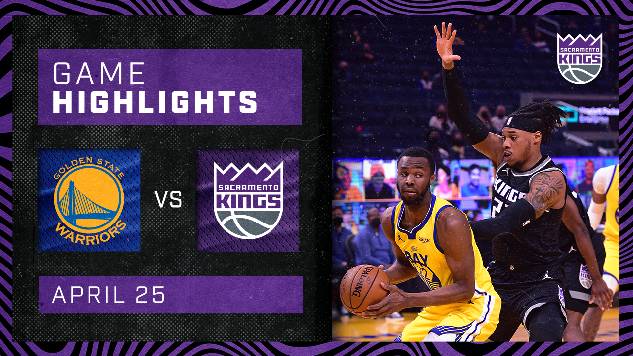 Kings Fall Short in Down to the Wire Battle | Kings vs Warriors 4.25.21