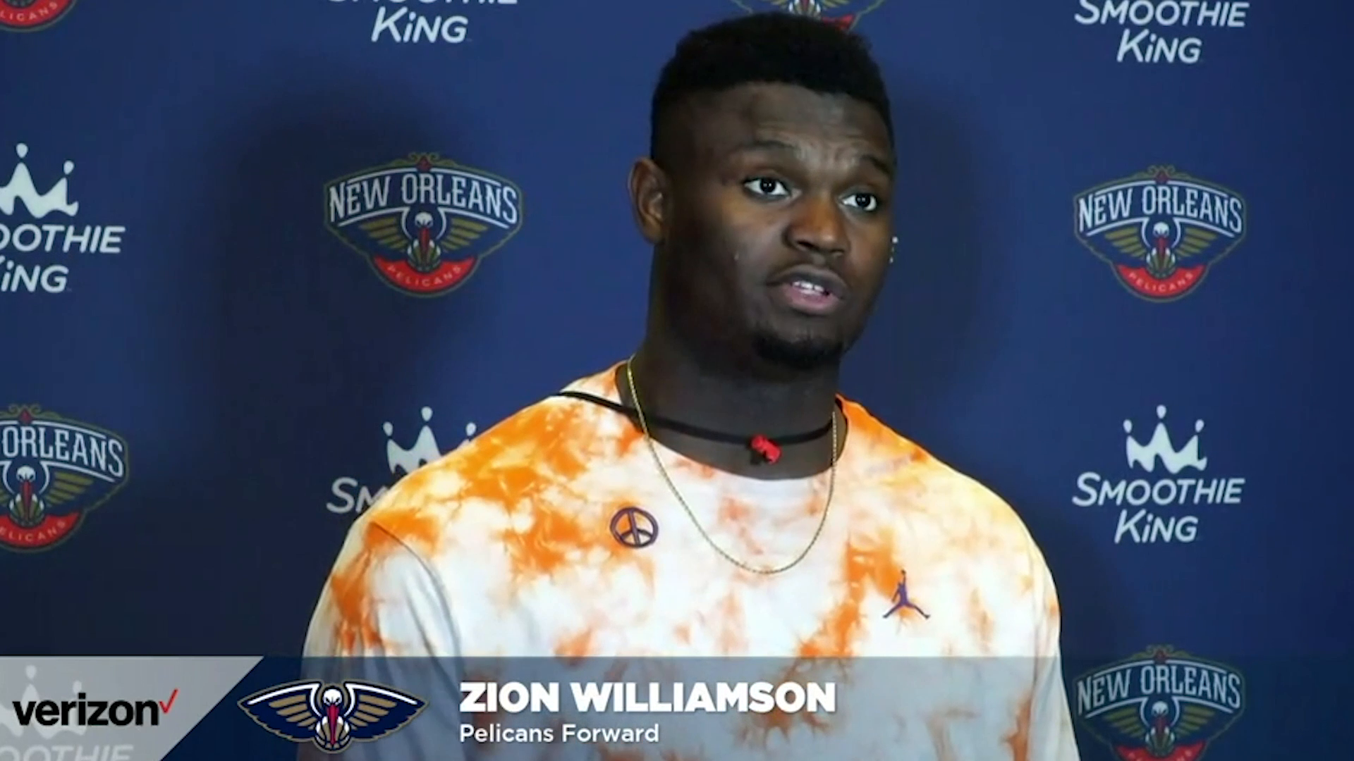 Pelicans-Clippers Postgame Interview: Zion Williamson 4-26-21