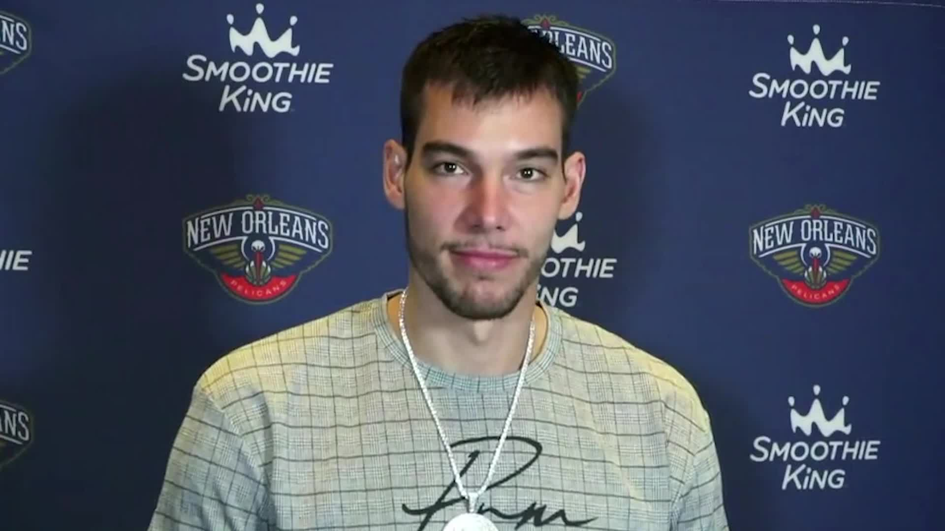 Pelicans- Clippers Postgame Interview: Willy Hernangómez  4-26-21