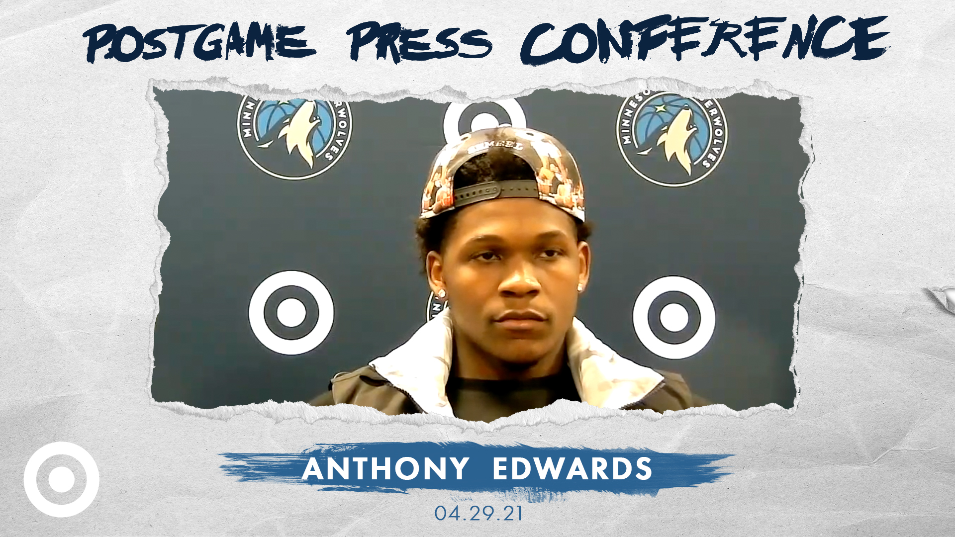 Anthony Edwards Postgame Press Conference - April 29, 2021