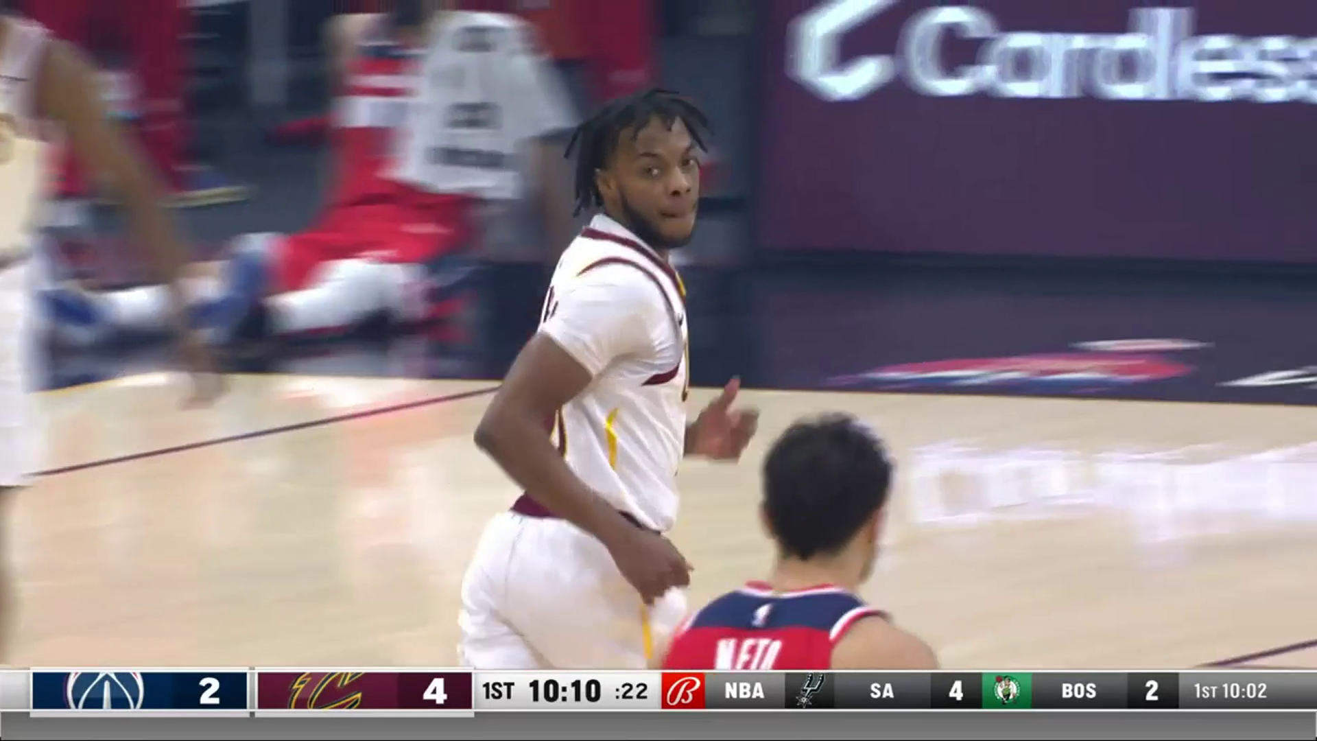 Garland Drives Baseline and Scores