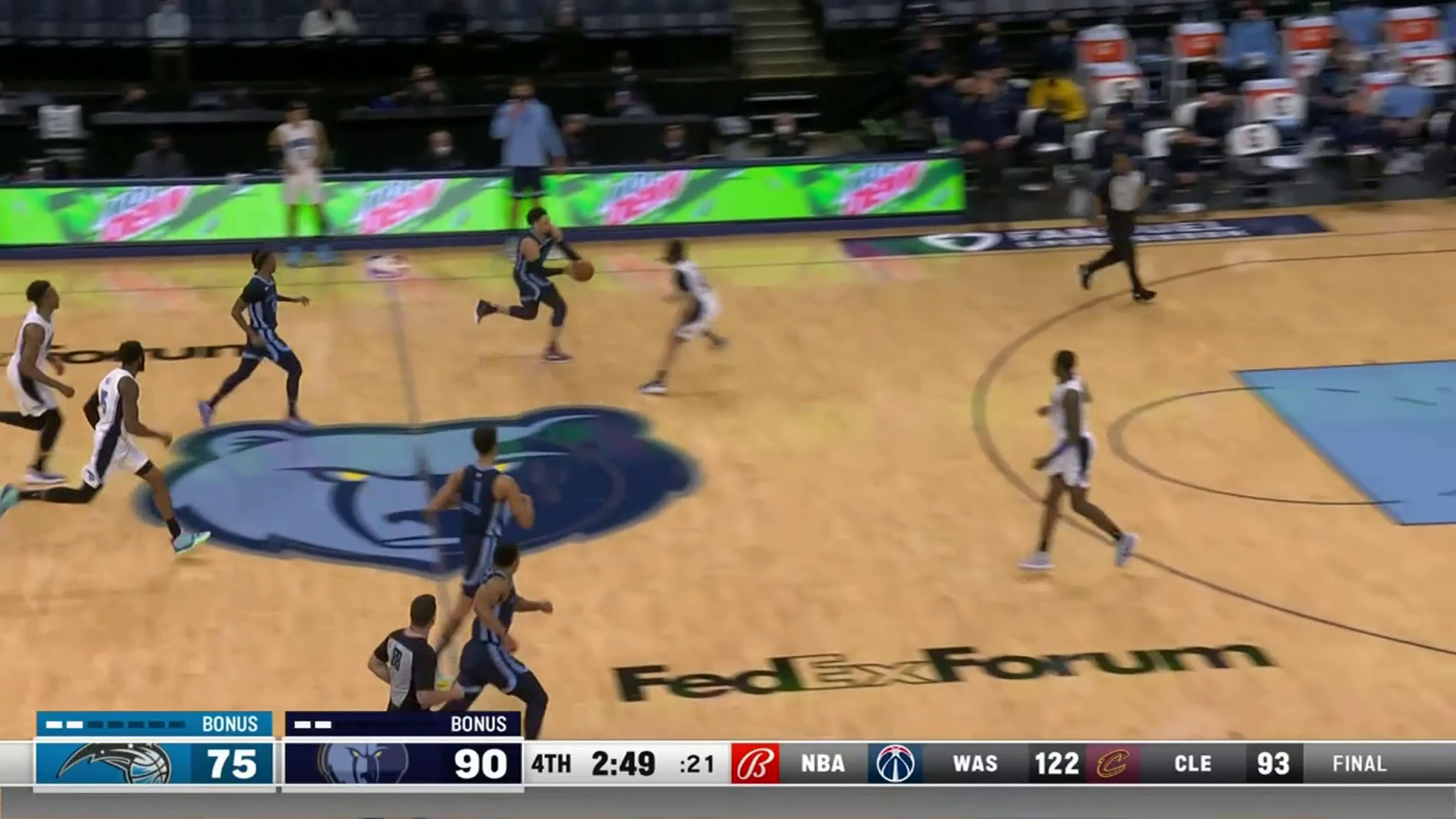 Dillon Brooks calls game with a cherry-topper slam