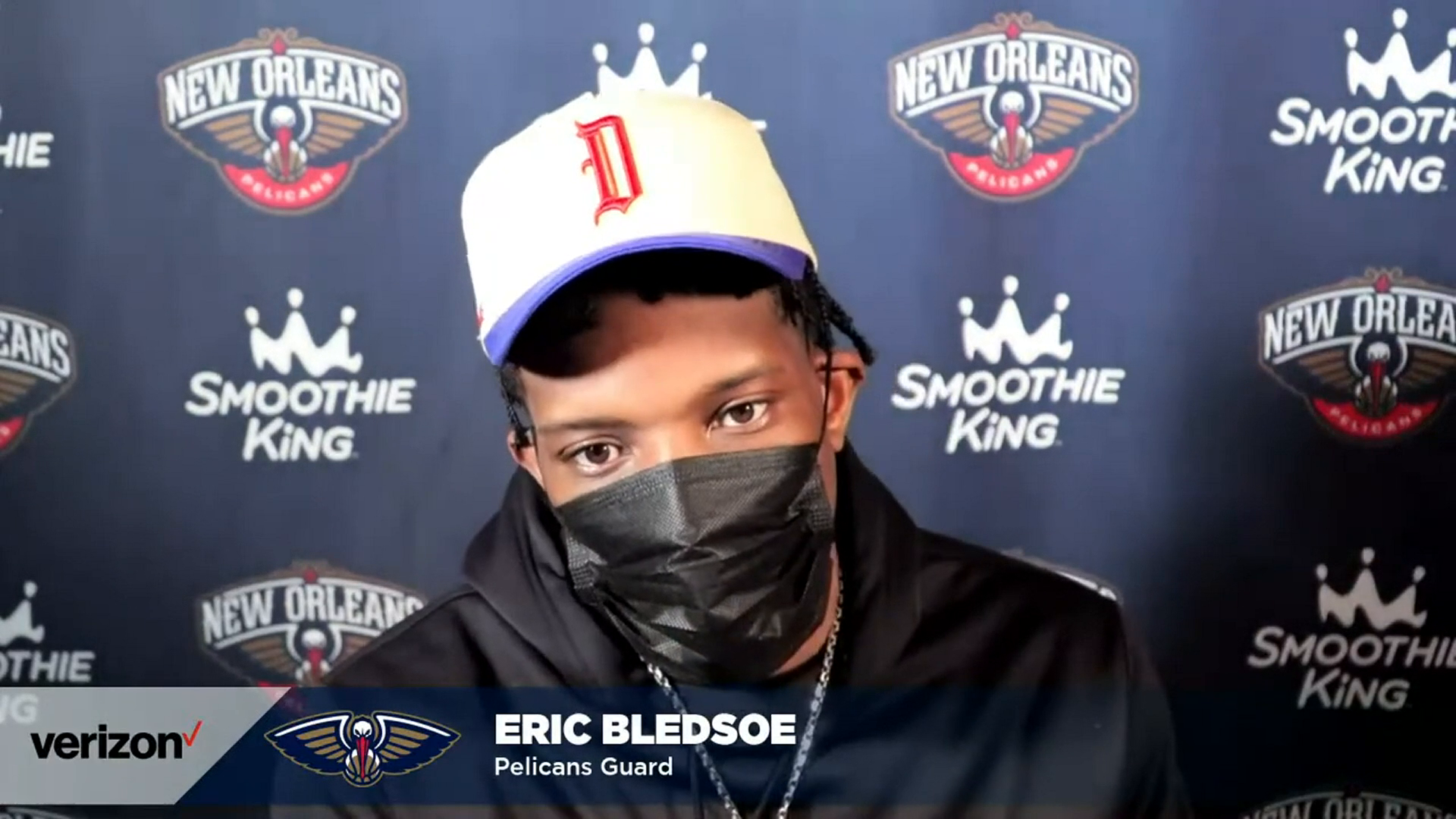 Pelicans-Timberwolves Postgame Interview: Eric Bledsoe 5-1-21