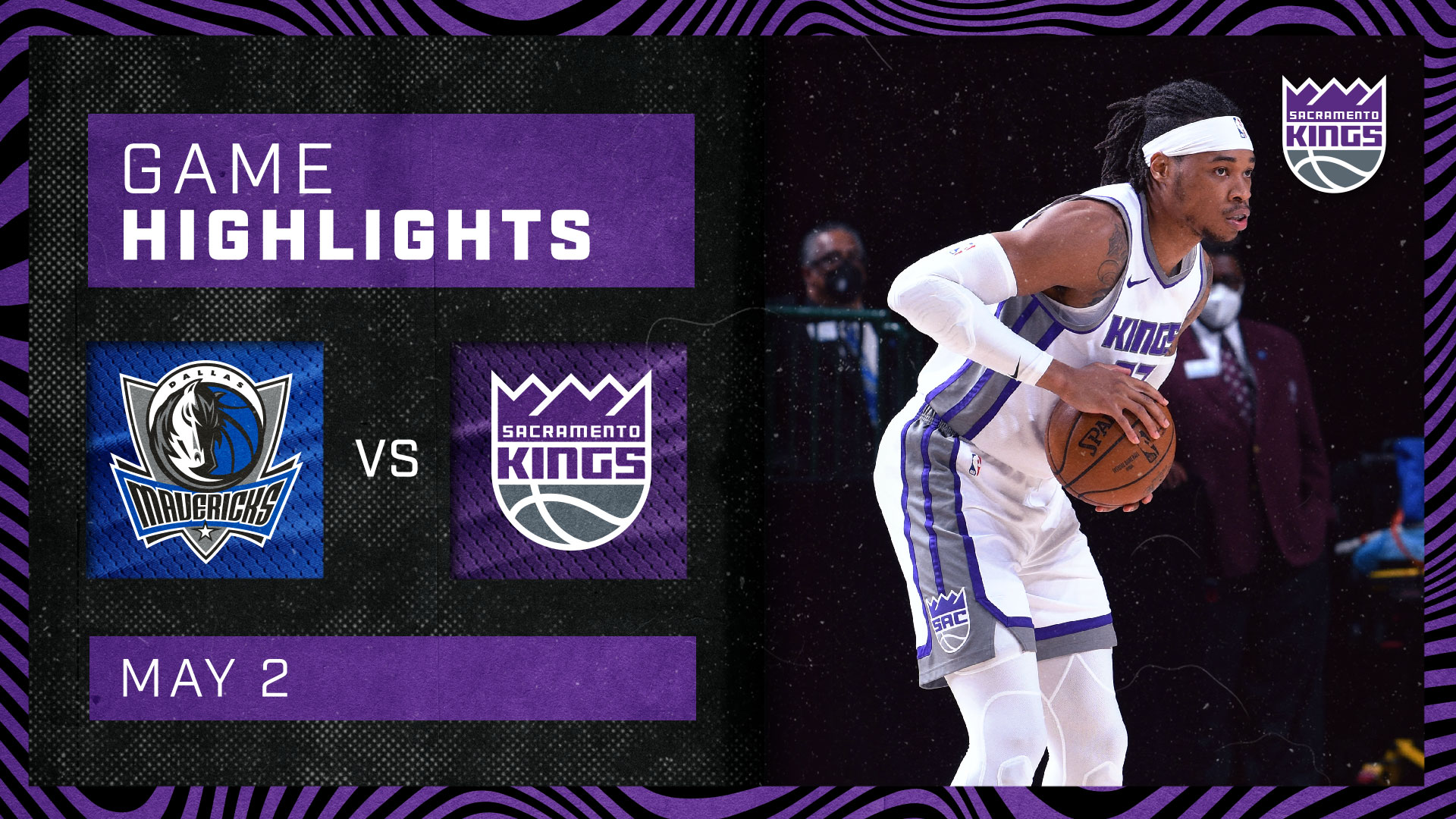 Kings Complete the Season Sweep of Dallas! | Kings vs Mavericks 5.2.21